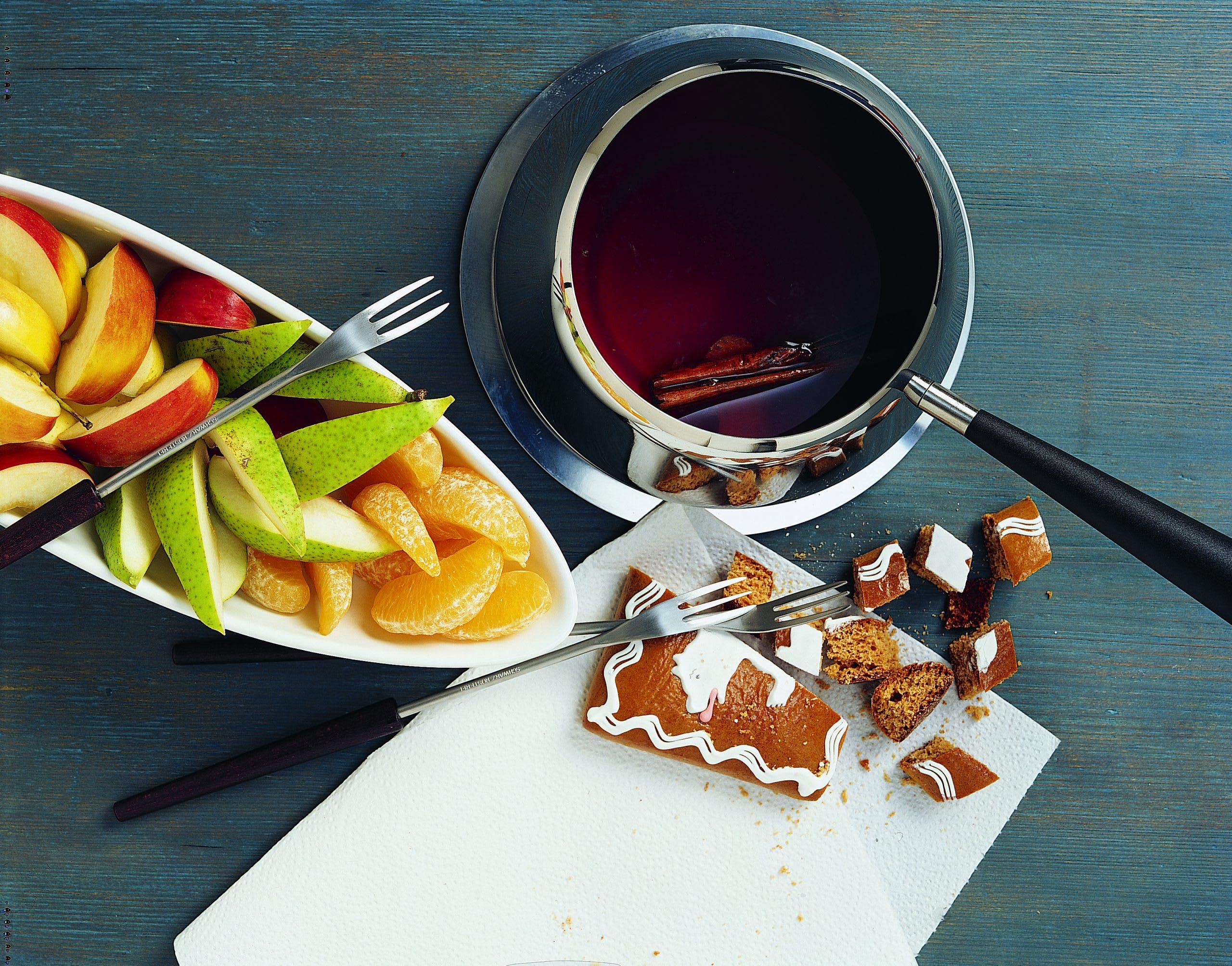 Glühwein-Fondue