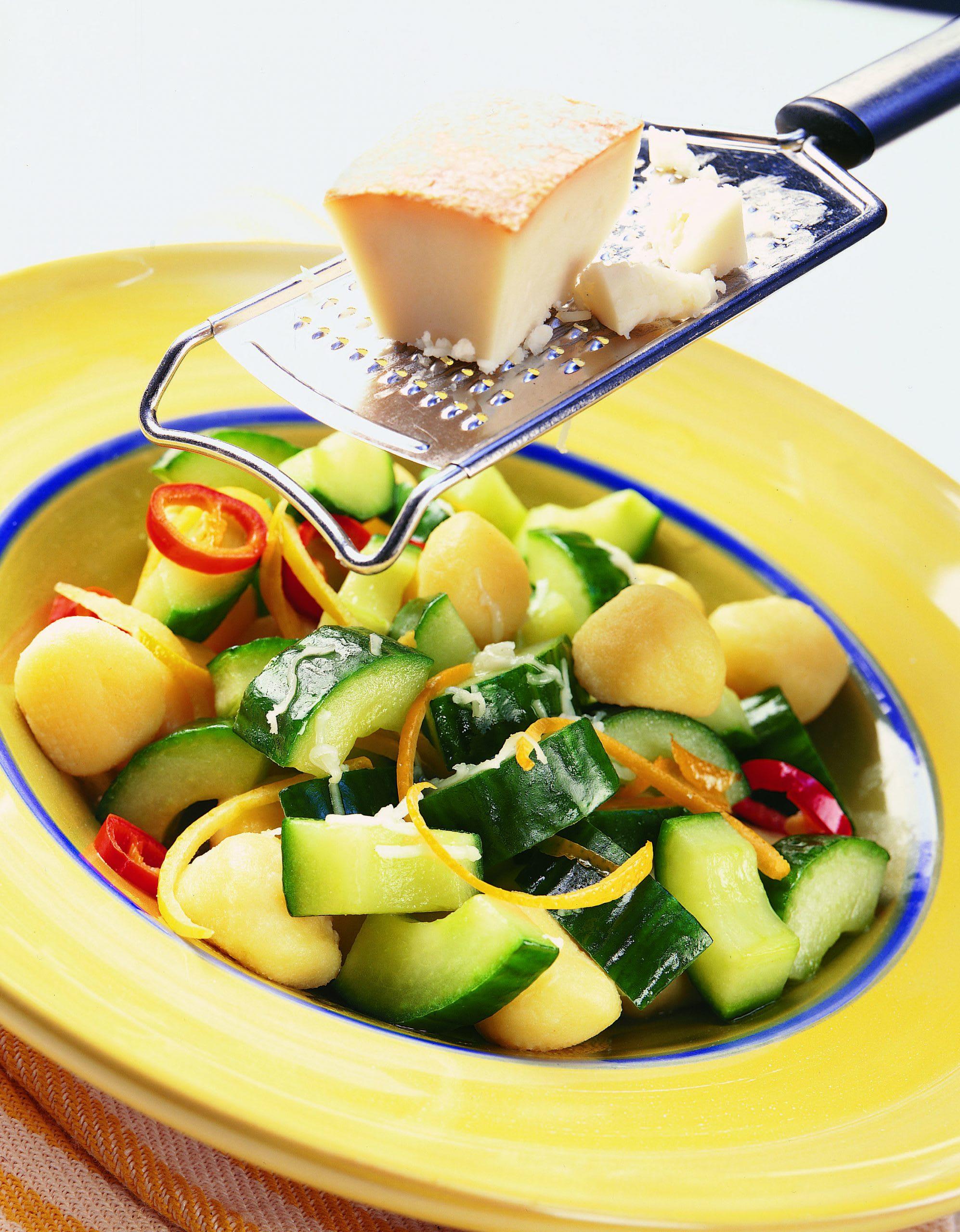 Gnocchi aux légumes