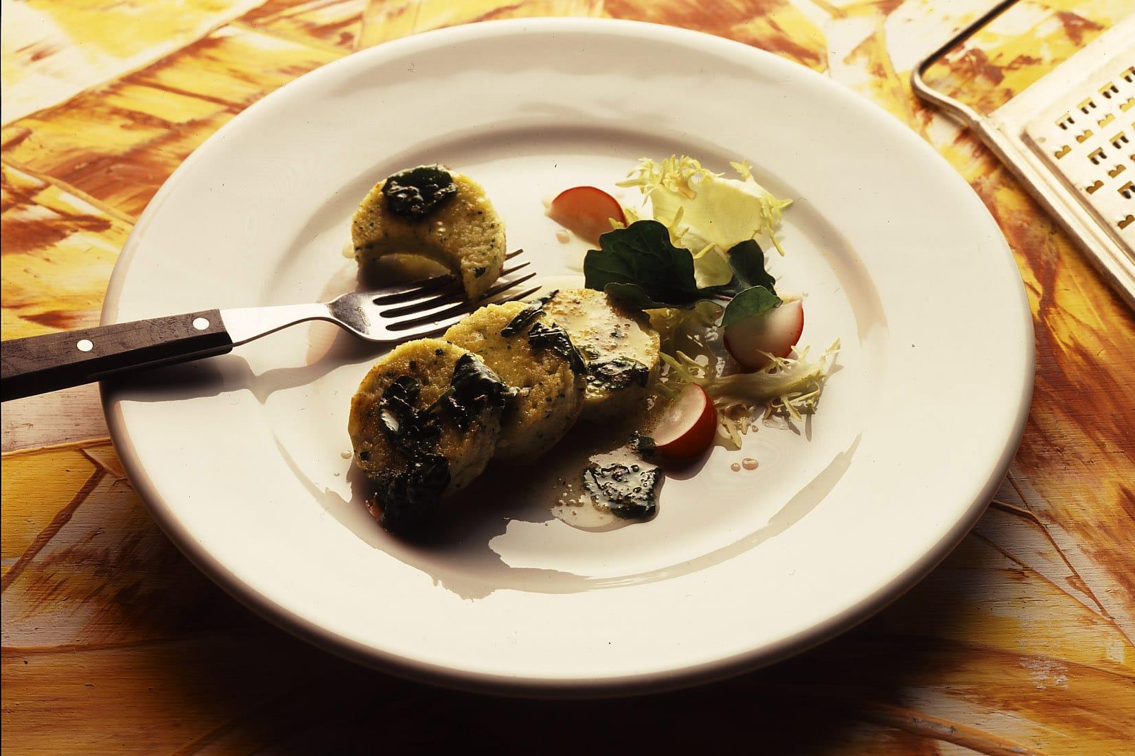 Griess-Gnocchi mit Kresse