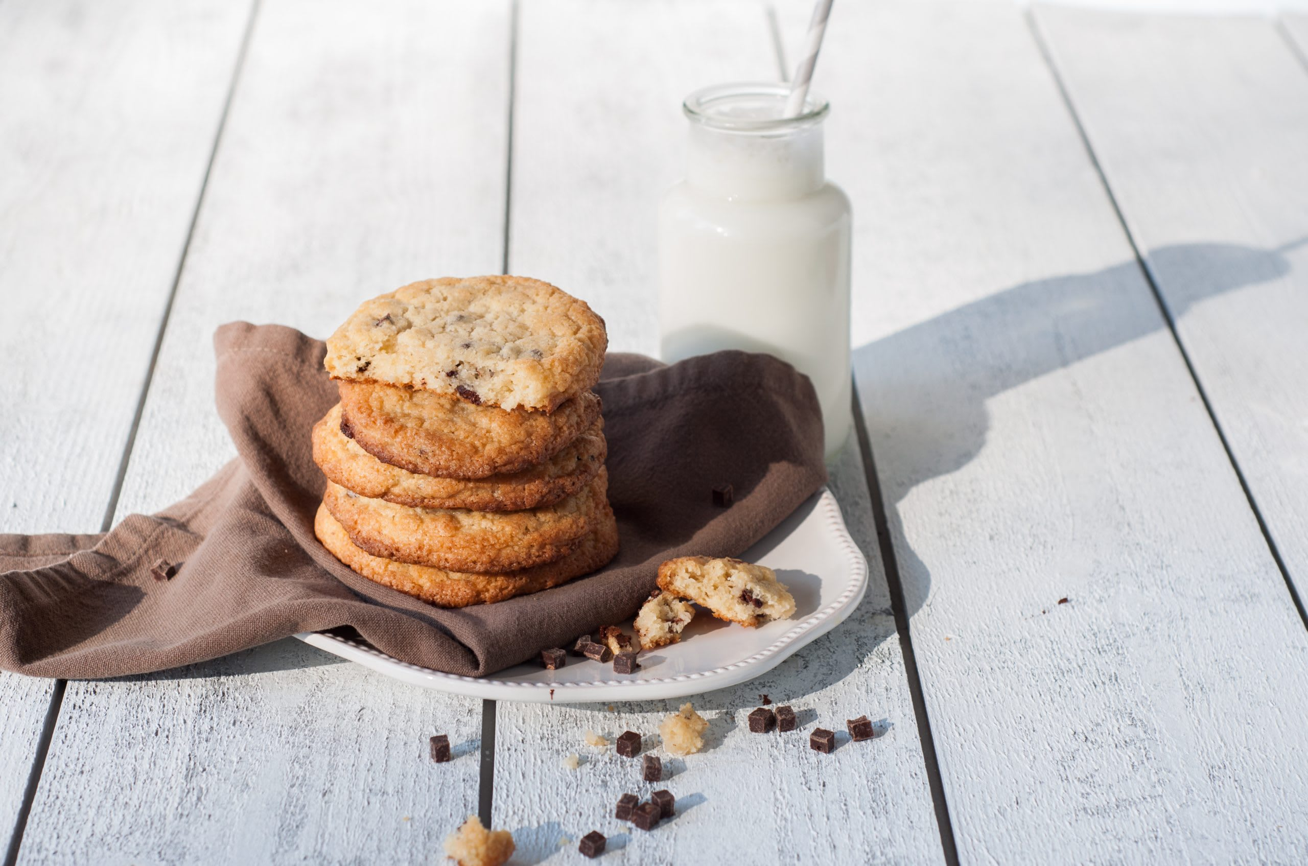 Grosse Cookies ohne Ei