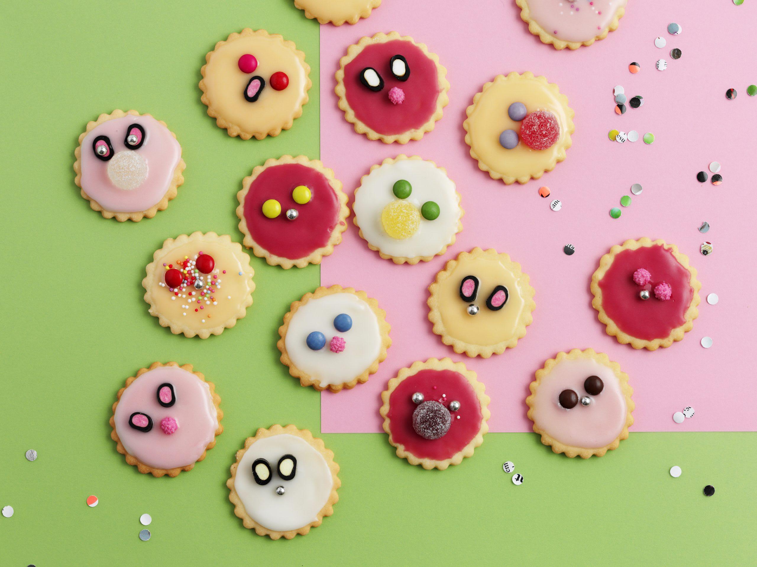 Biscuits rigolos anniversaire enfant
