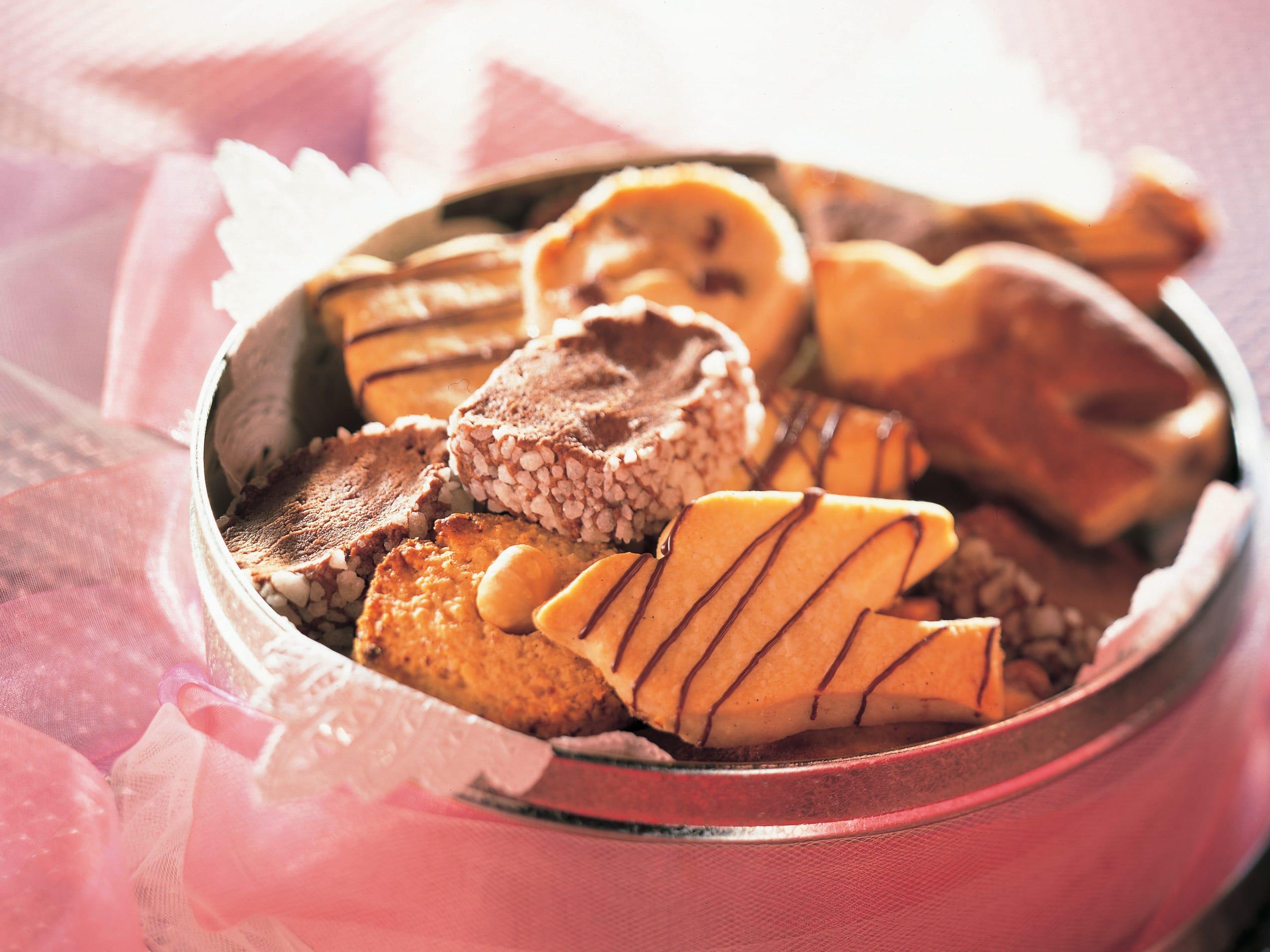 Petits biscuits en variantes