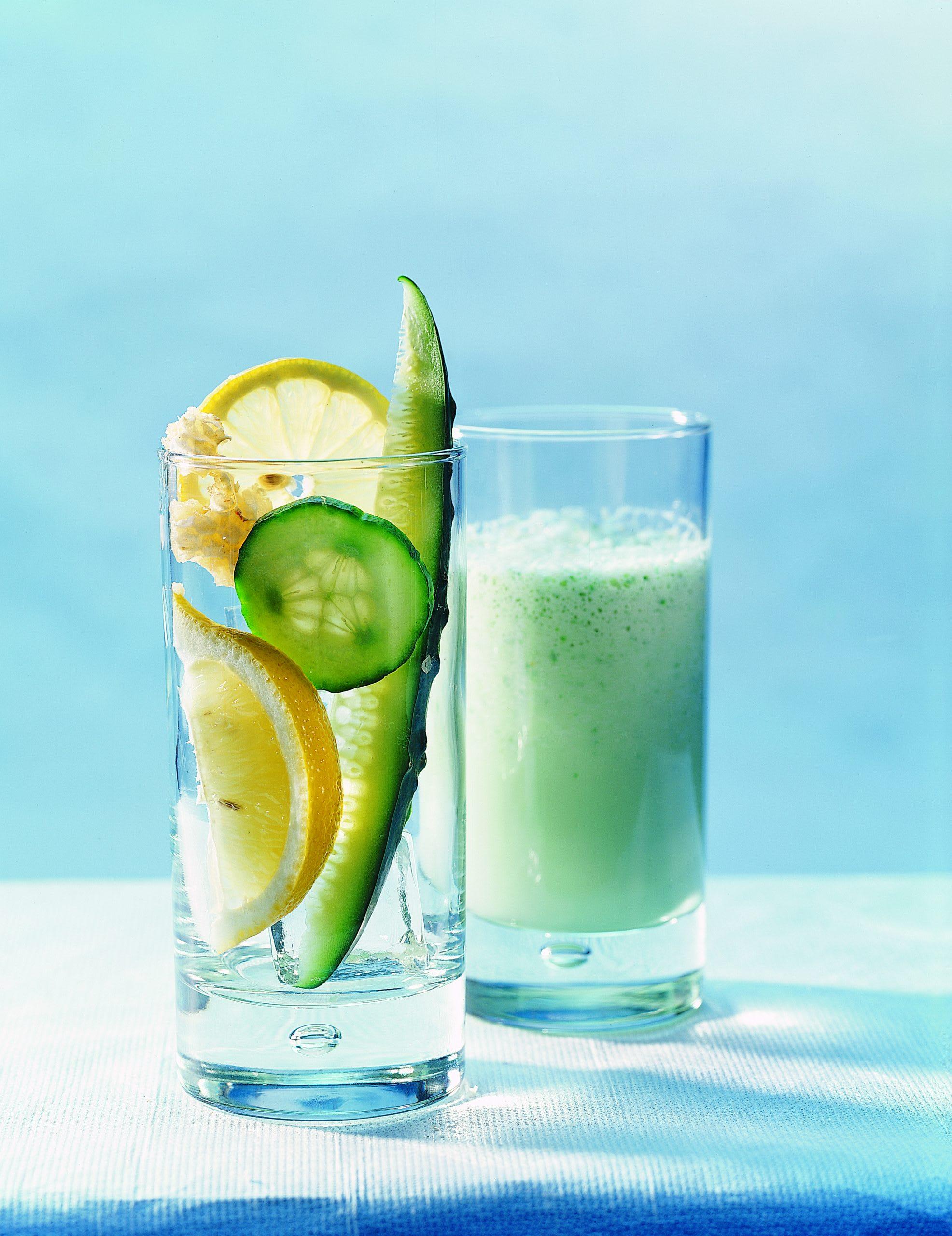 Gurken-Zitronen-Shake