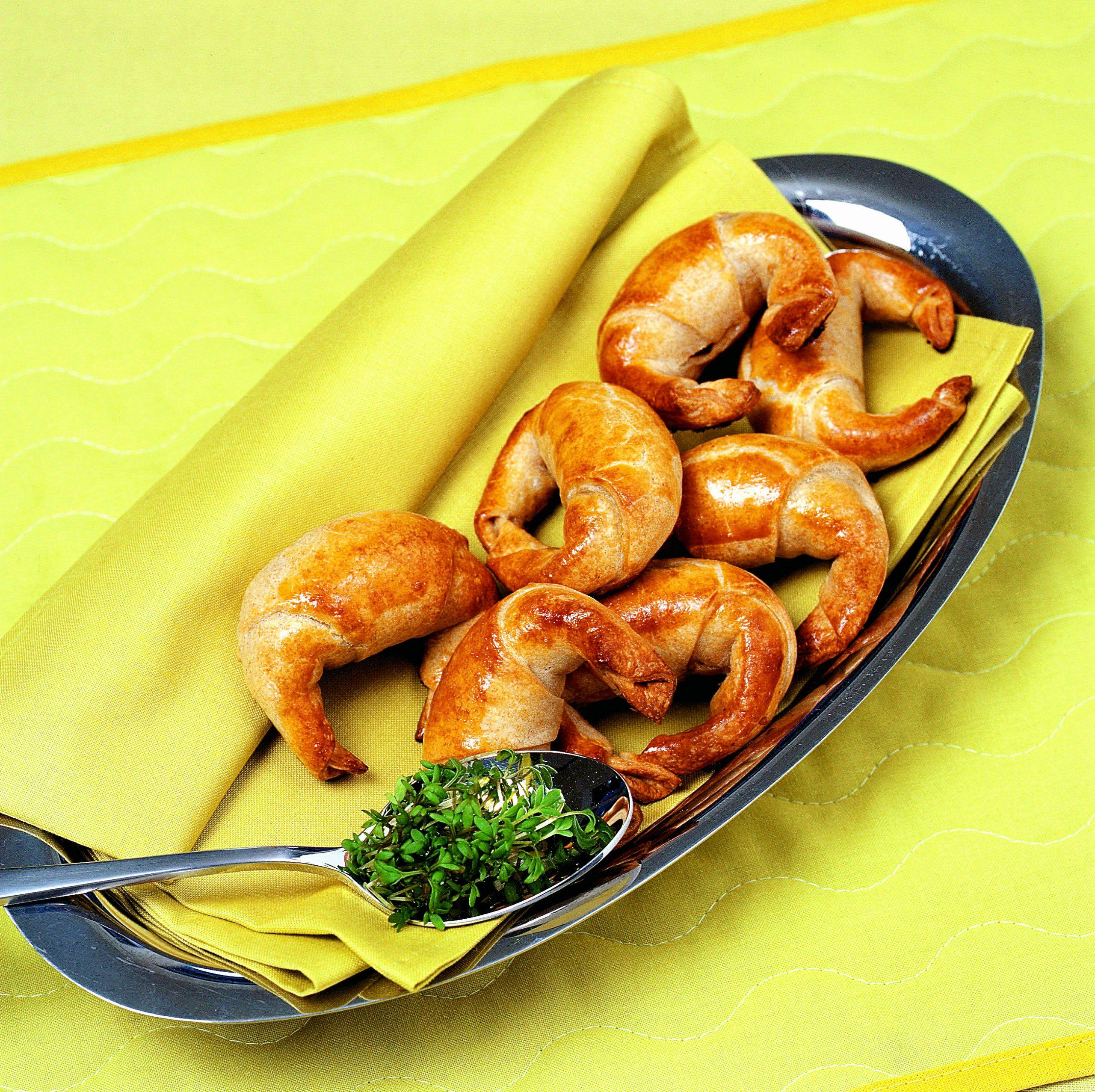 Croissants à la viande hachée