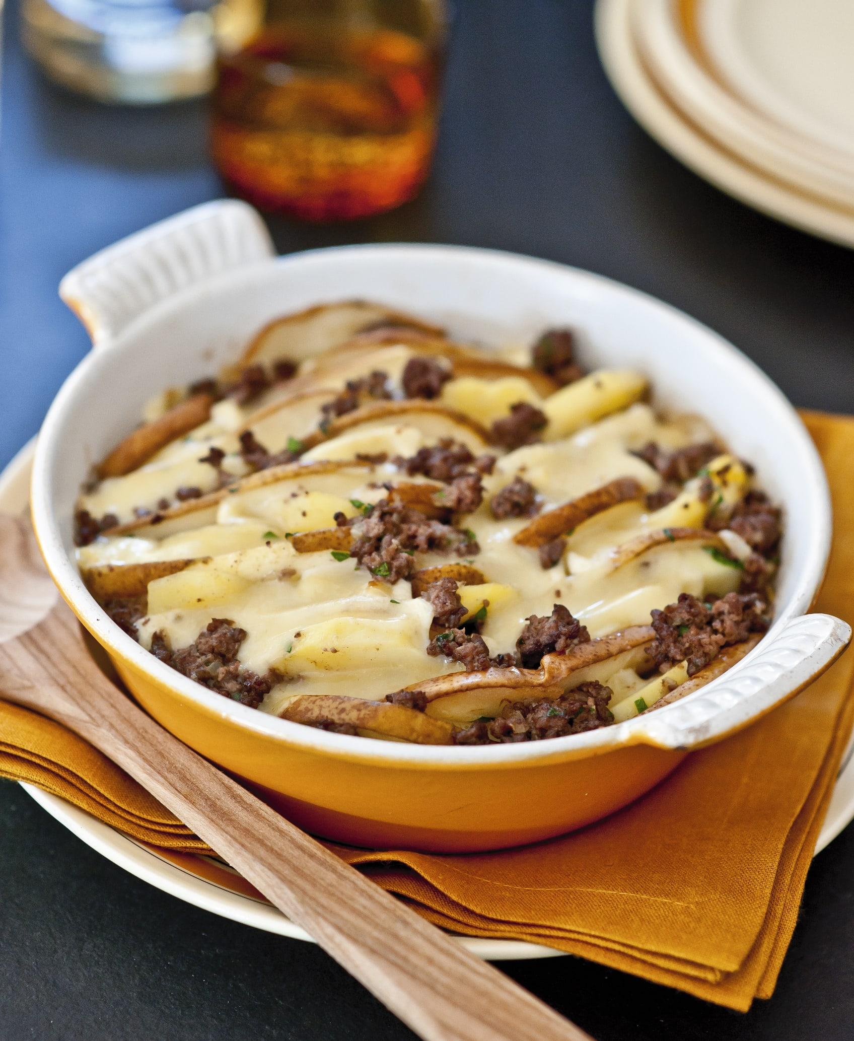 Hackfleisch-Kartoffelgratin