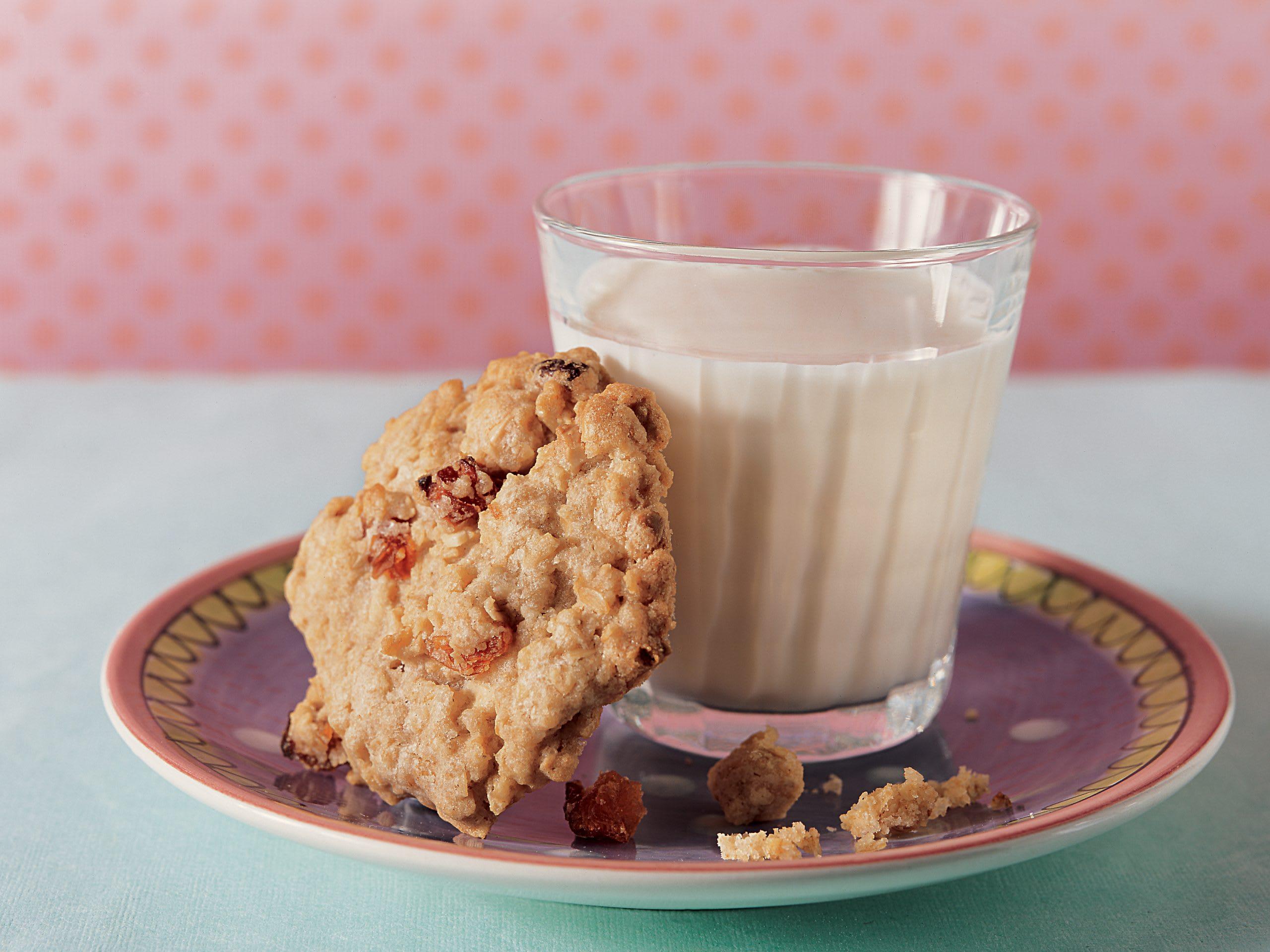 Cookies aux flocons d'avoine et aux abricots secs