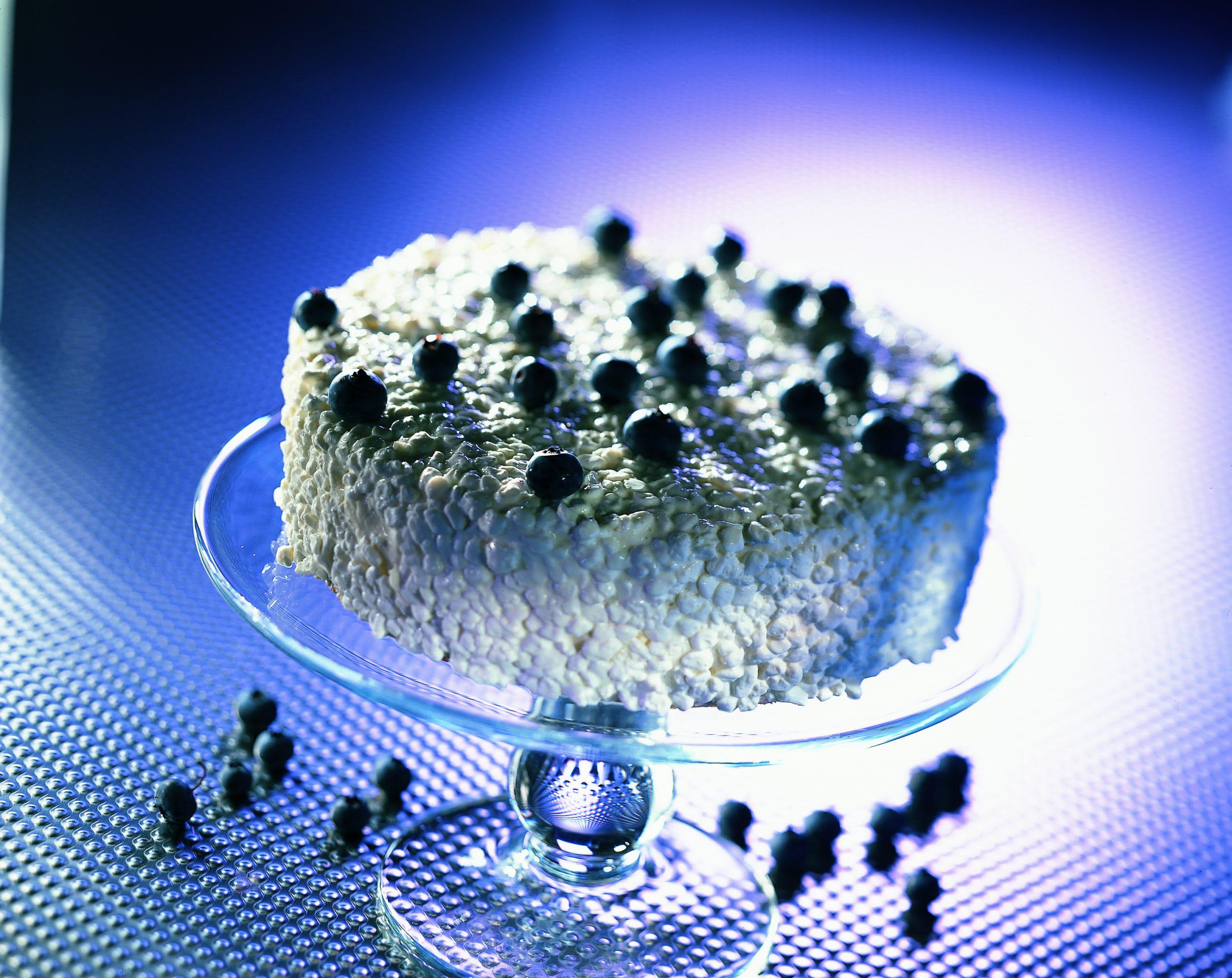 Heidelbeer-Quark-Torte