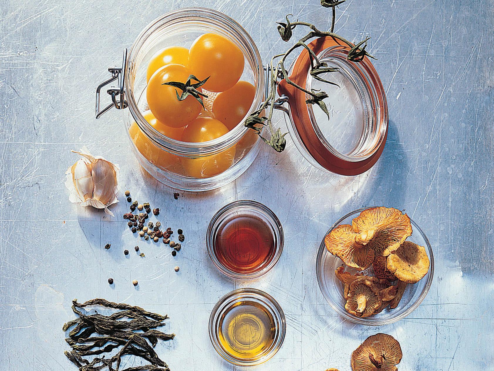 Remplissage à chaud et condiment aigre-doux