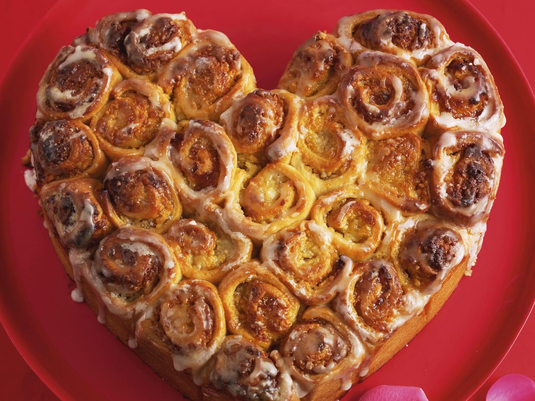 Herz-Rosenkuchen