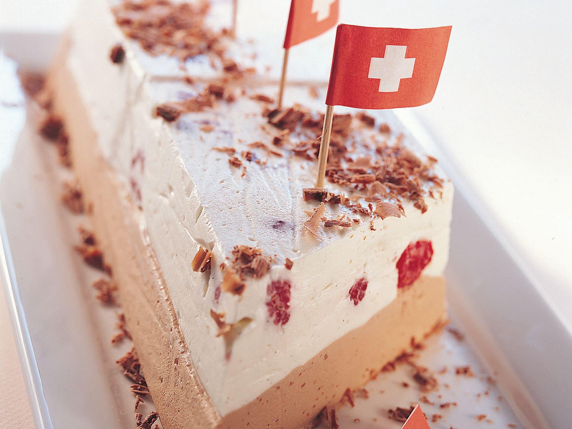 Himbeer-Schokolade-Terrine