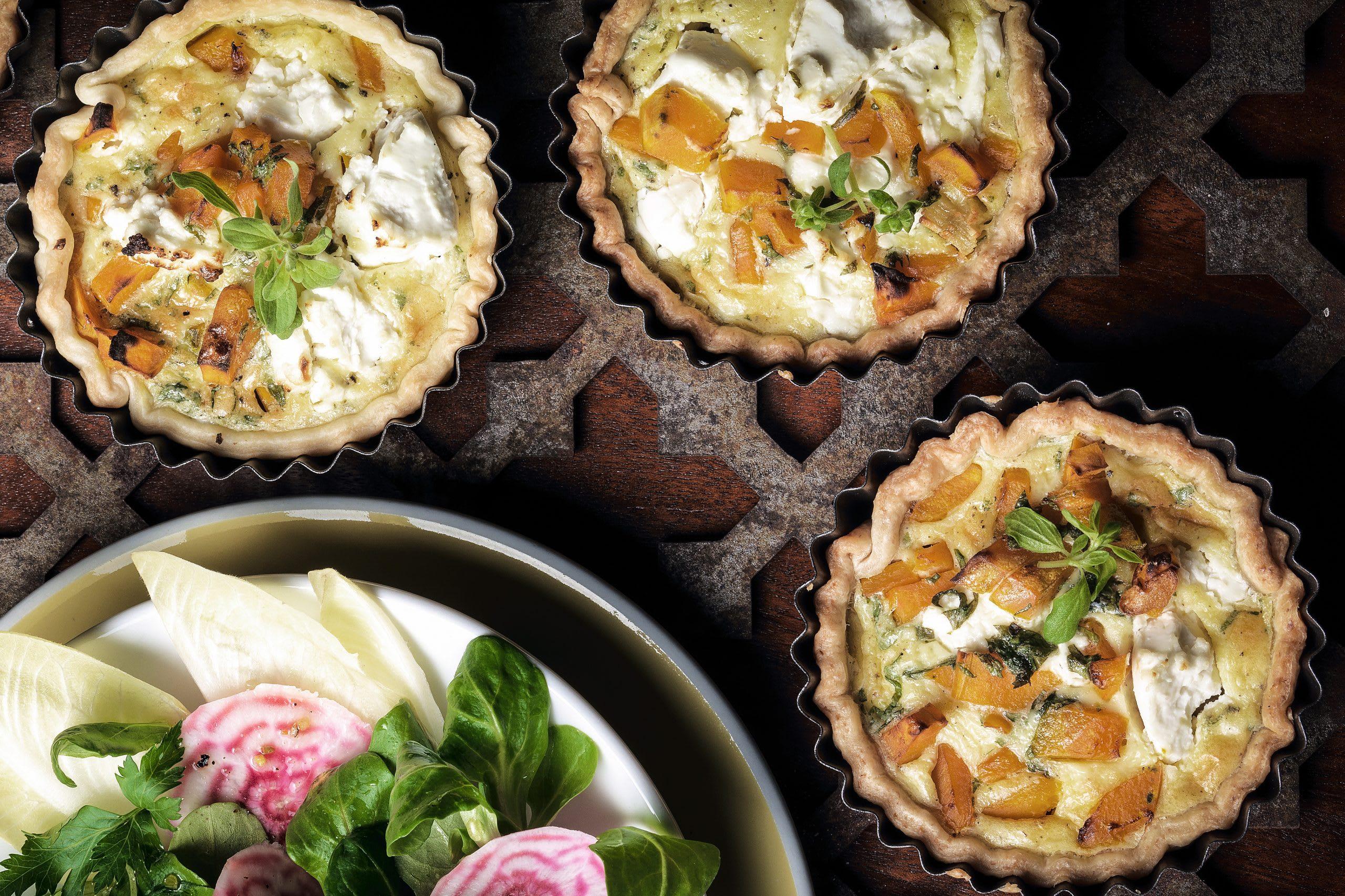 Honig-Kürbis-Tartelettes