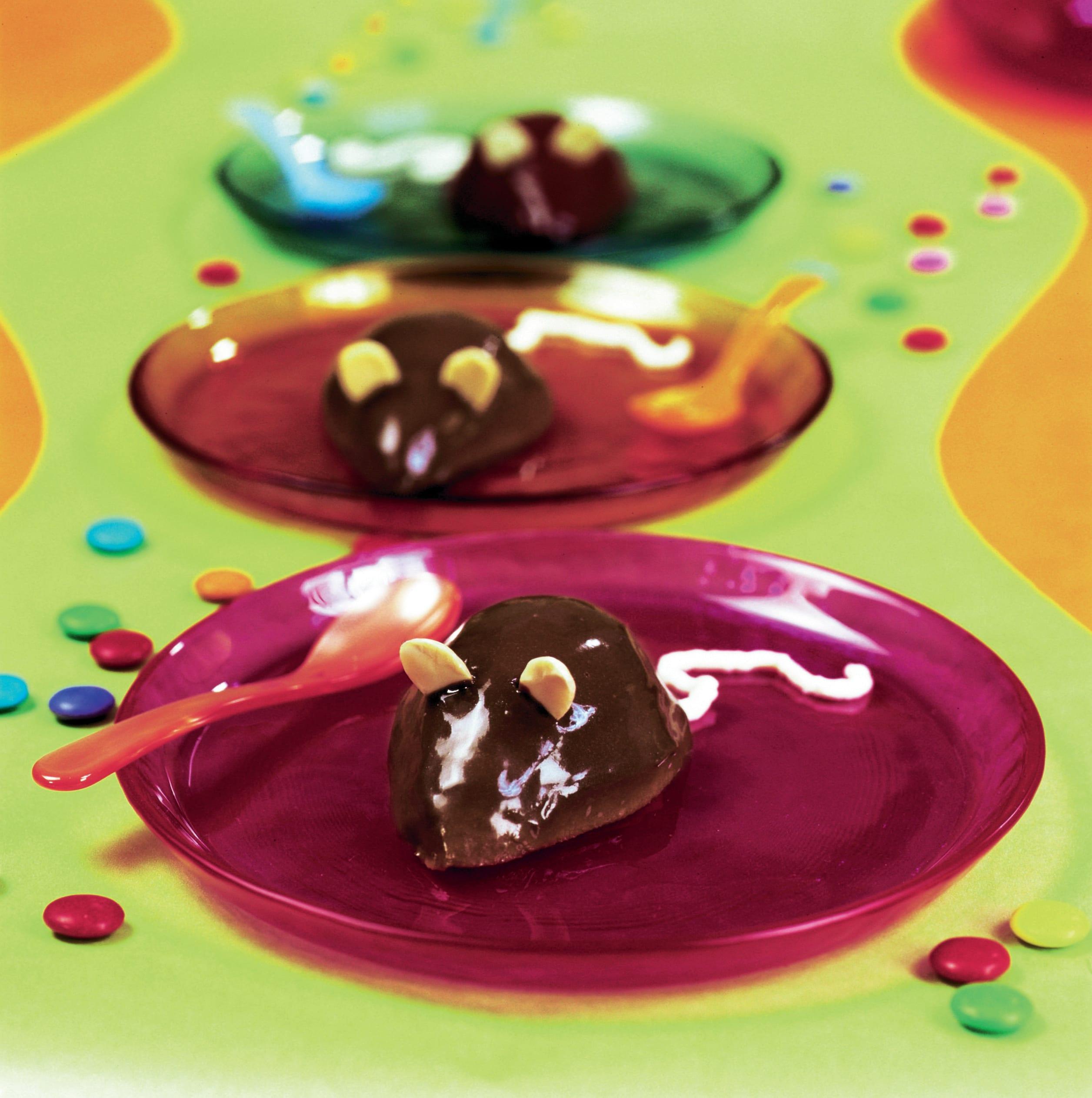 Souris au chocolat