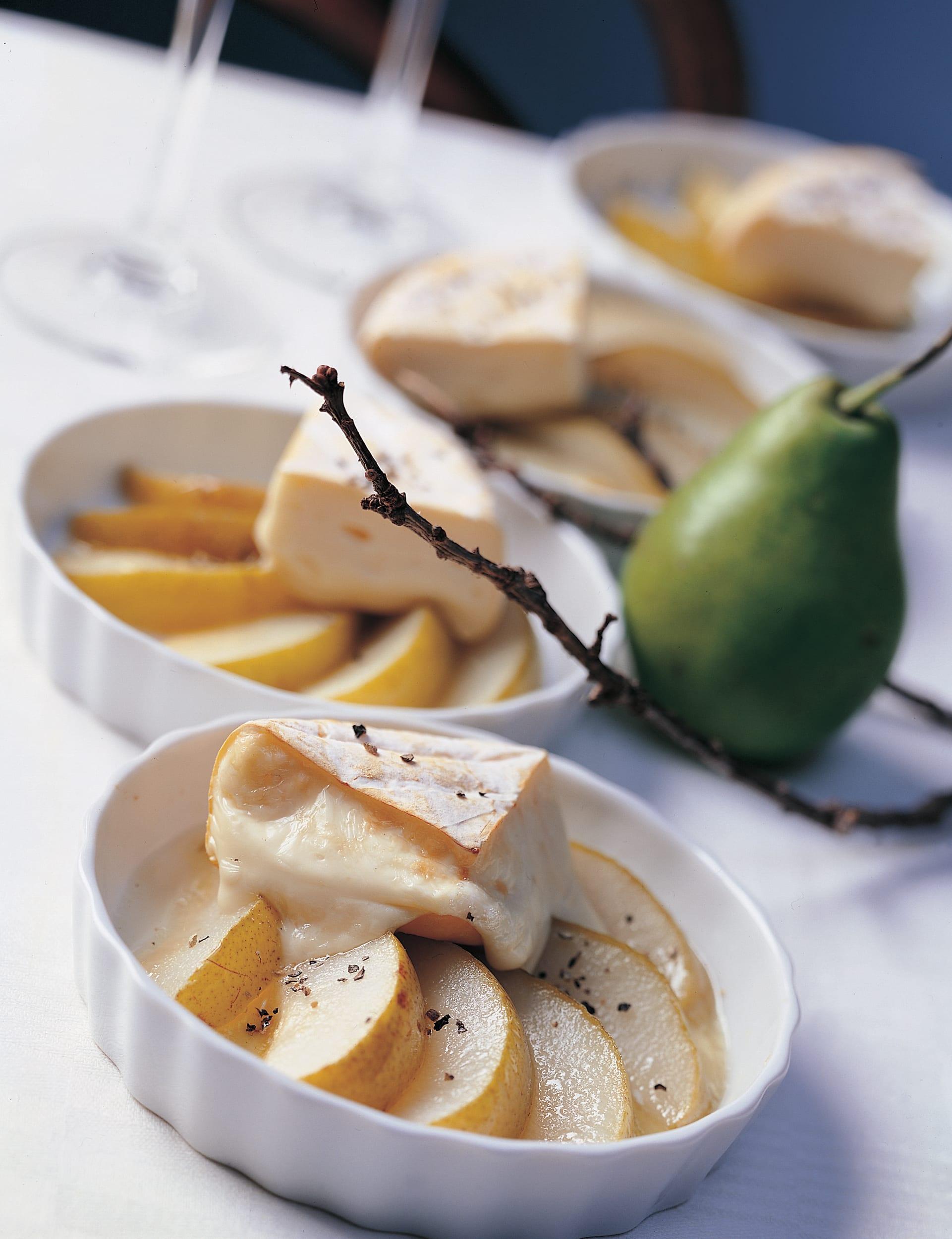 Honigbirnen mit Reblochon