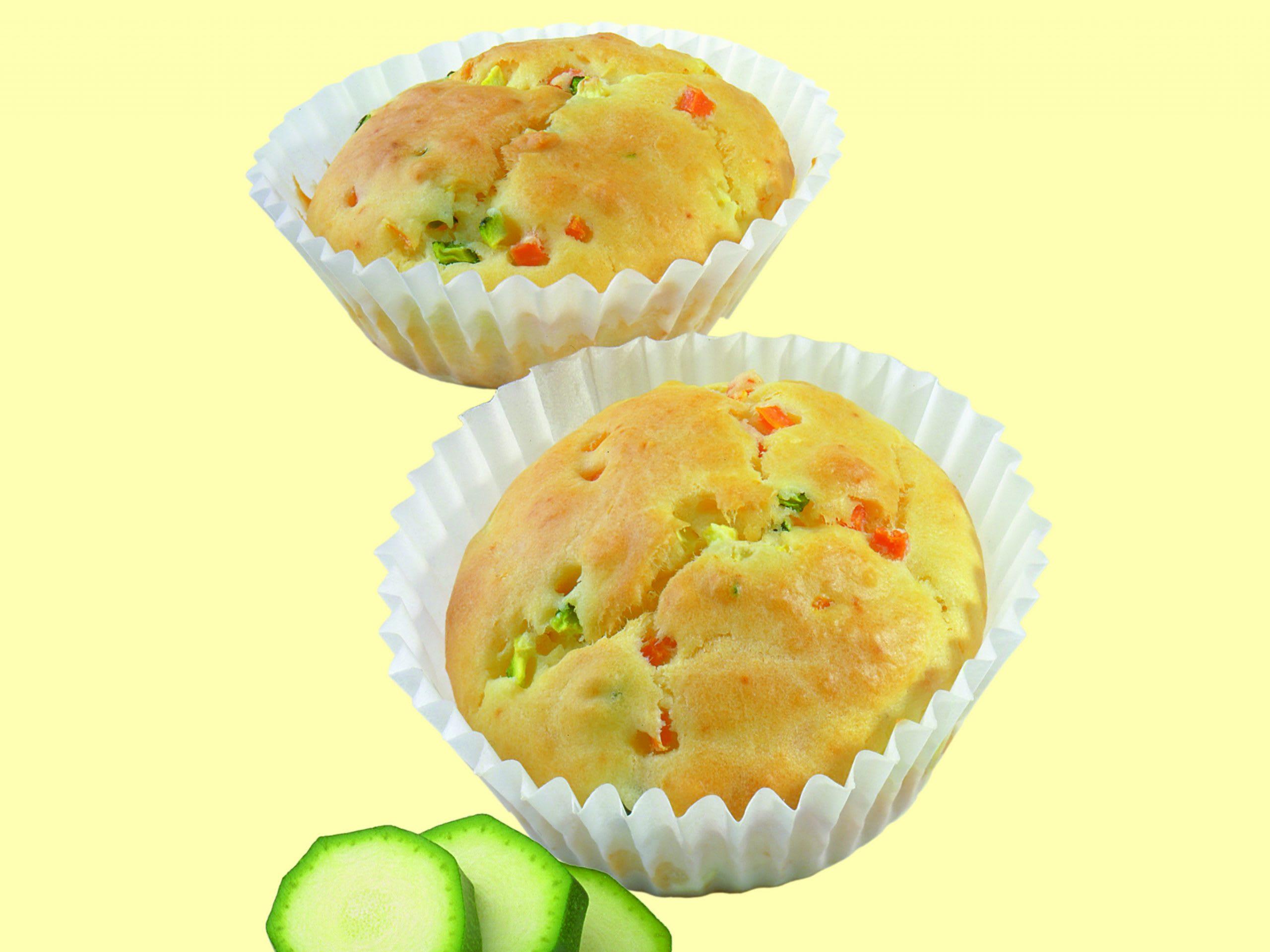Joghurt-Gemüse-Muffins