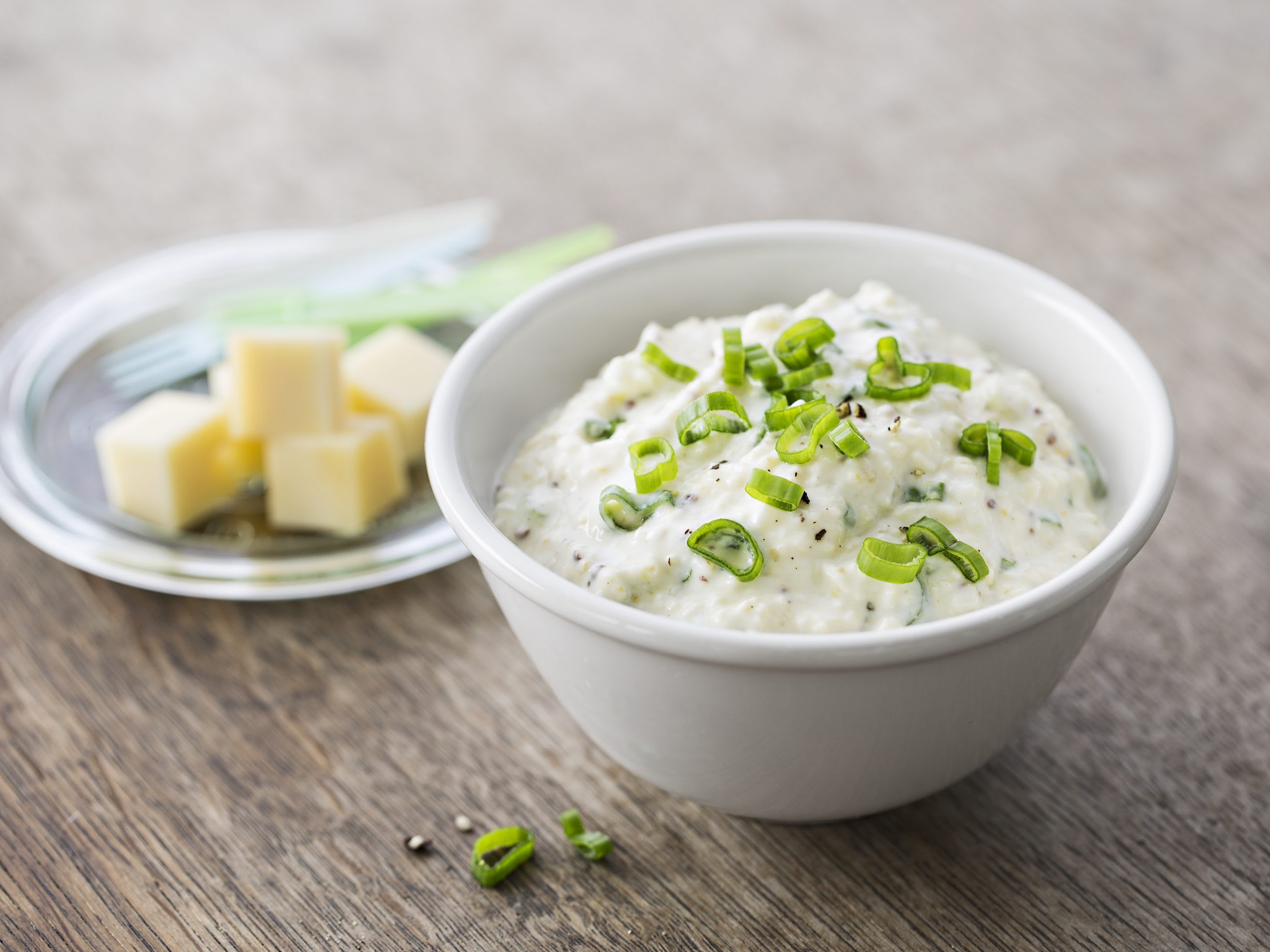 Joghurt-Käse-Senf-Sauce (Fondue Chinoise oder Dip)