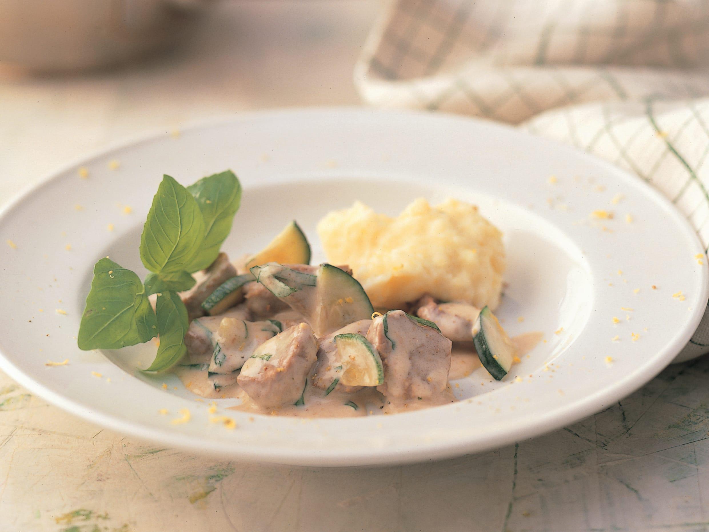 Ragoût de veau aux courgettes