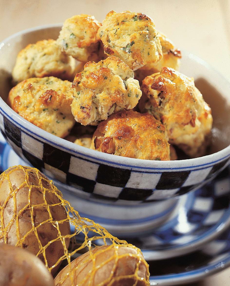 Scones aux pommes de terre