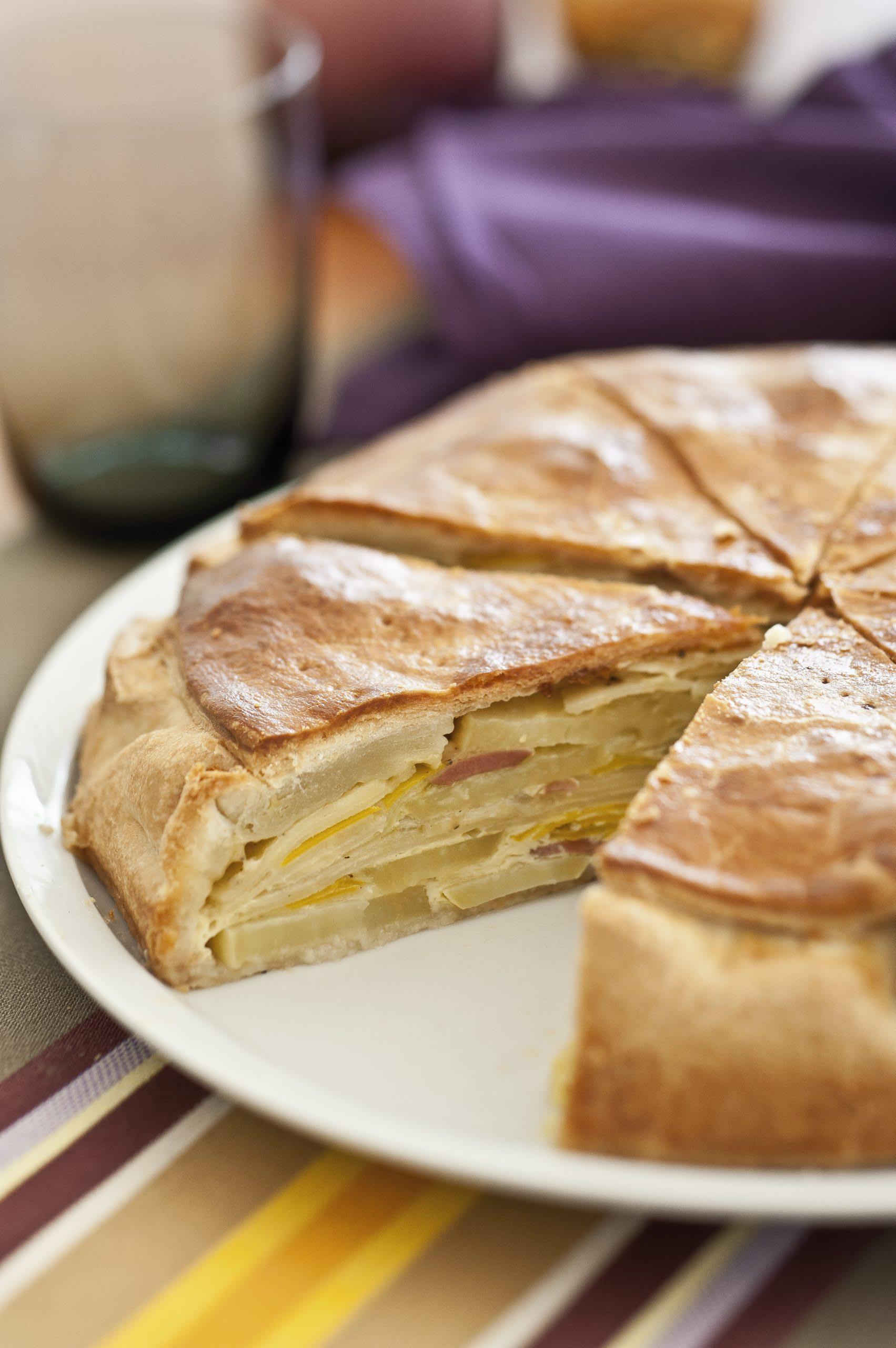 Kartoffel-Wurzelgemüse-Pie