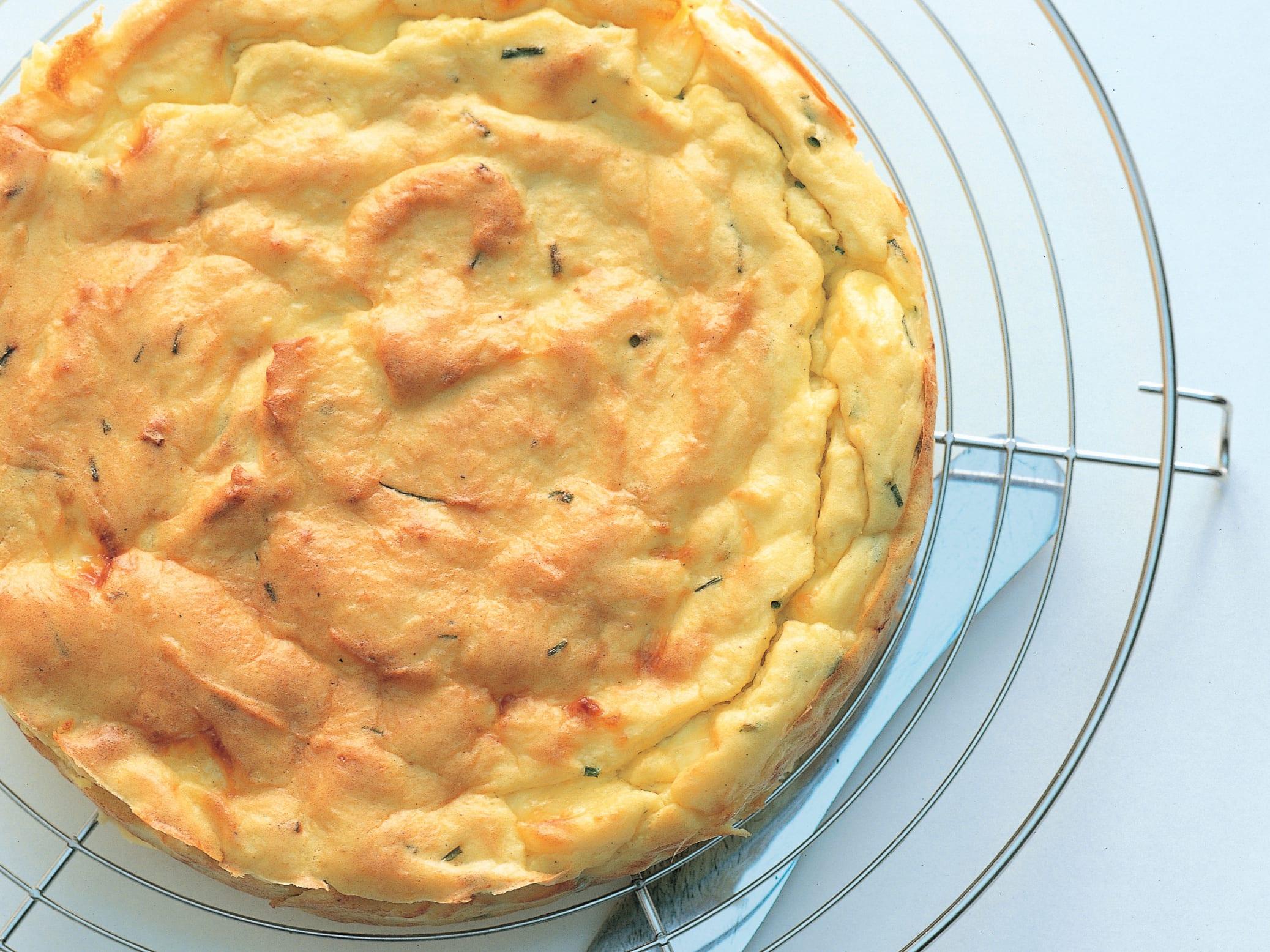 Kartoffelstock-Käse-Kuchen