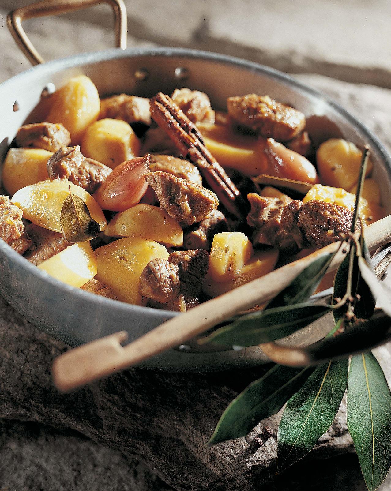 Ragoût d'agneau aux pommes de terre
