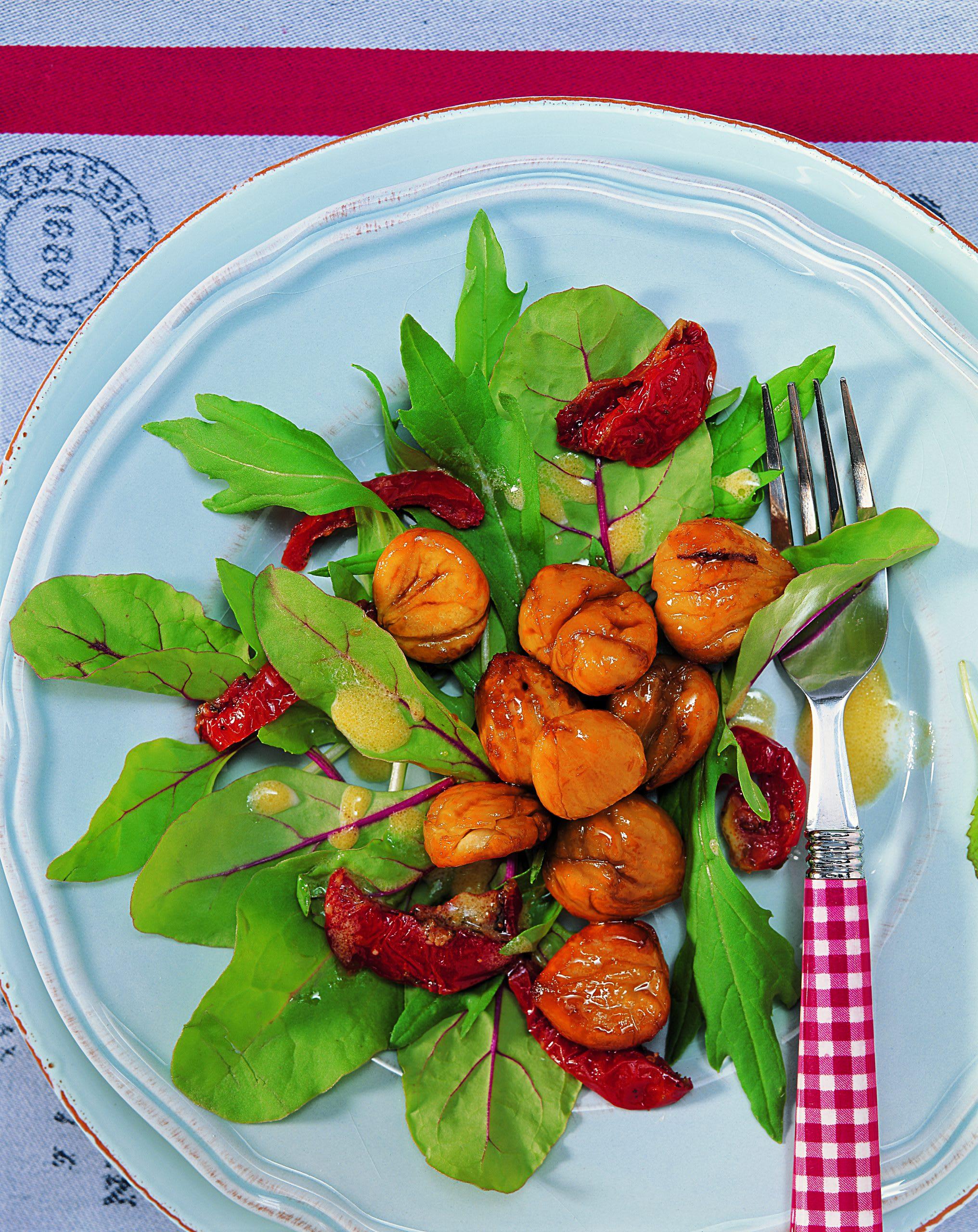 Marrons en salade