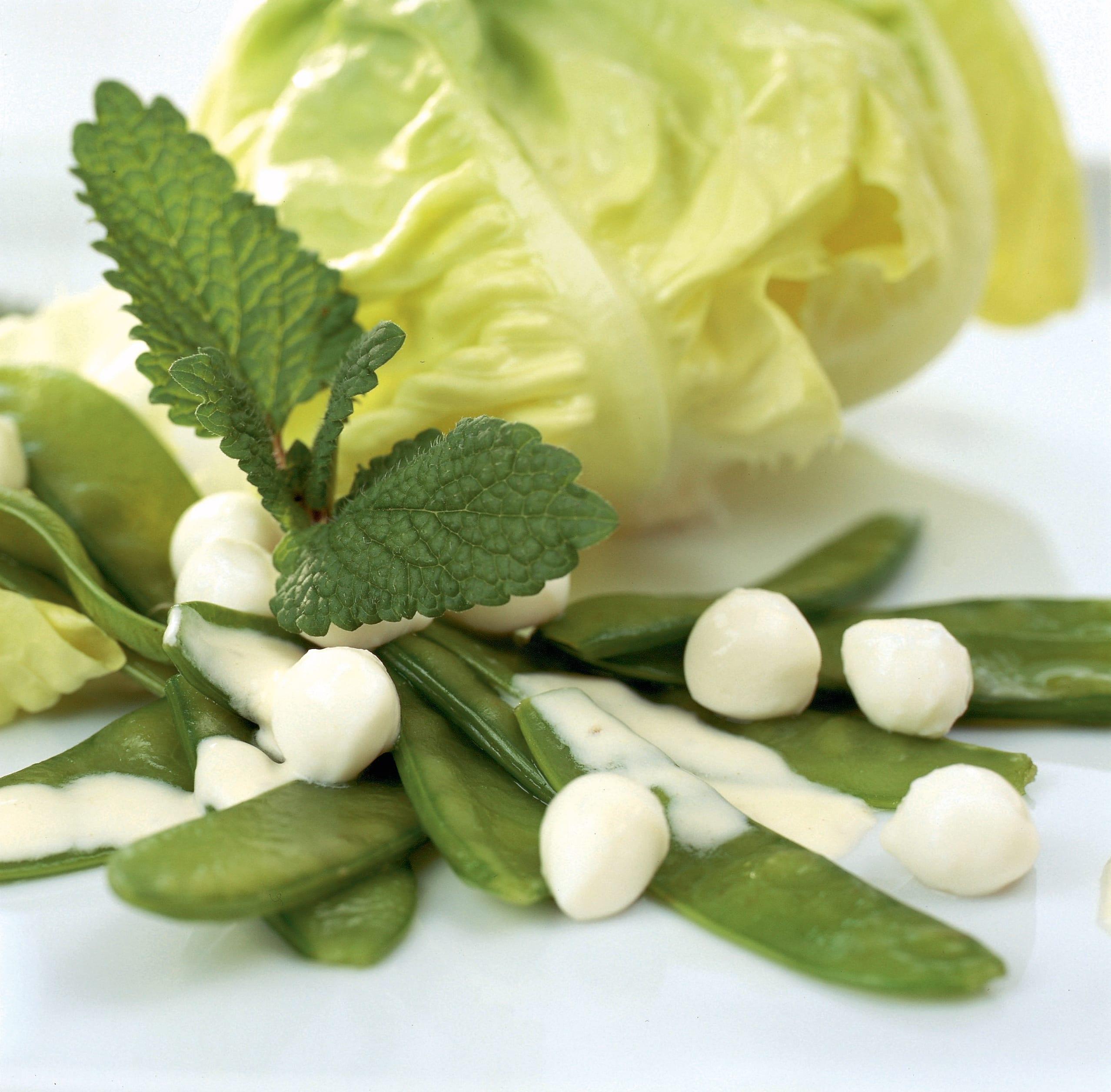 Kefen-Mozzarella-Salat