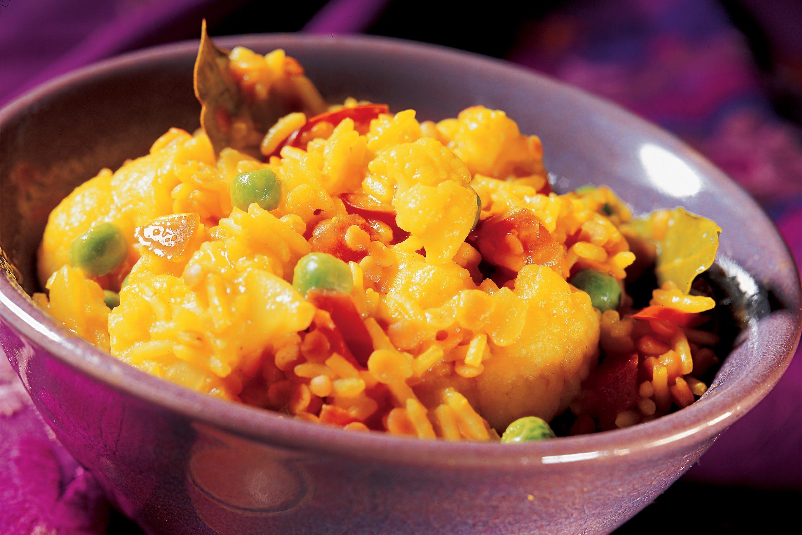 Kitschuri (riz aux lentilles et aux légumes)