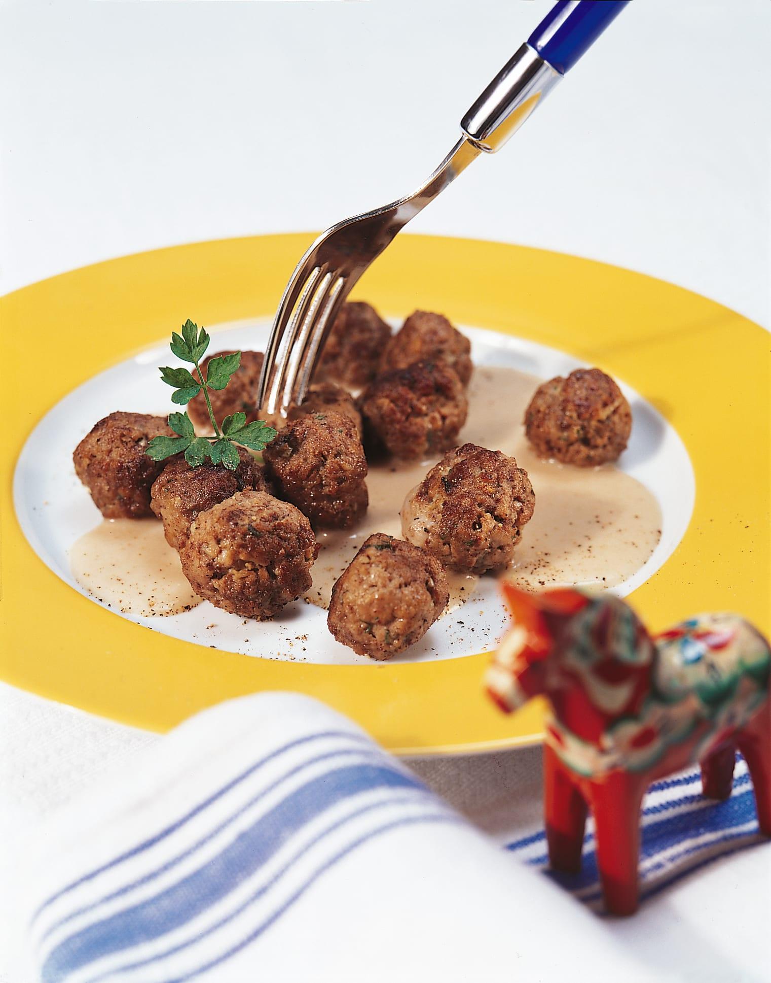 Köttbullar (boulettes de viande hachée)