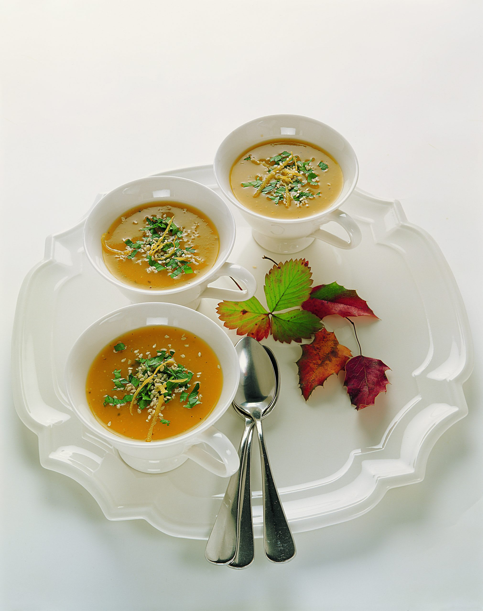 Kürbis-Zitronen-Suppe