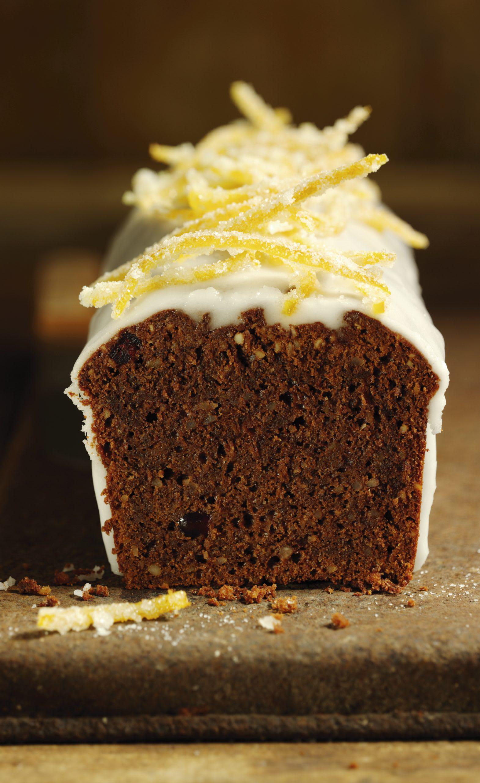 Cake à la courge, au chocolat et à l'orange