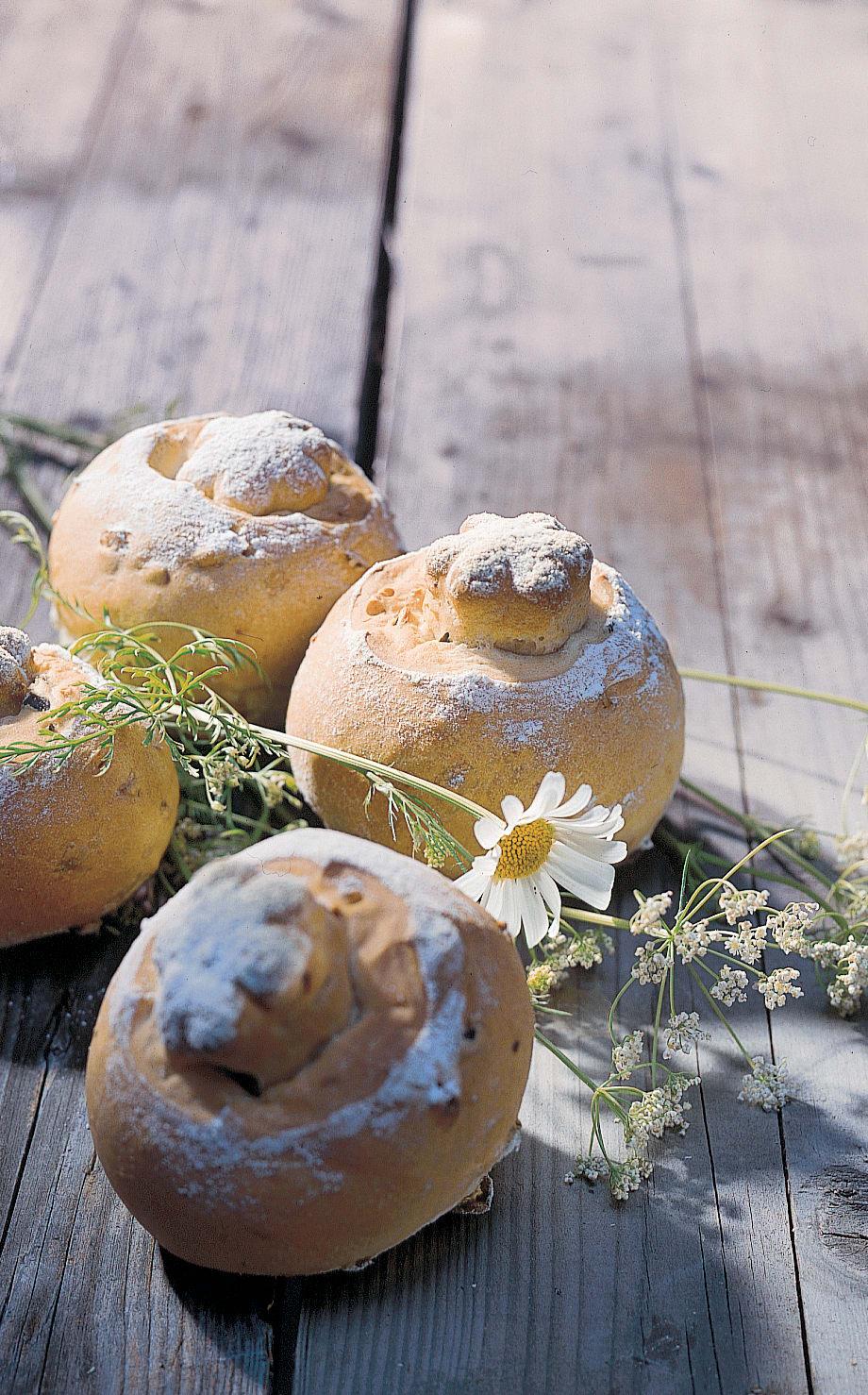 Petits pains aux graines de courge