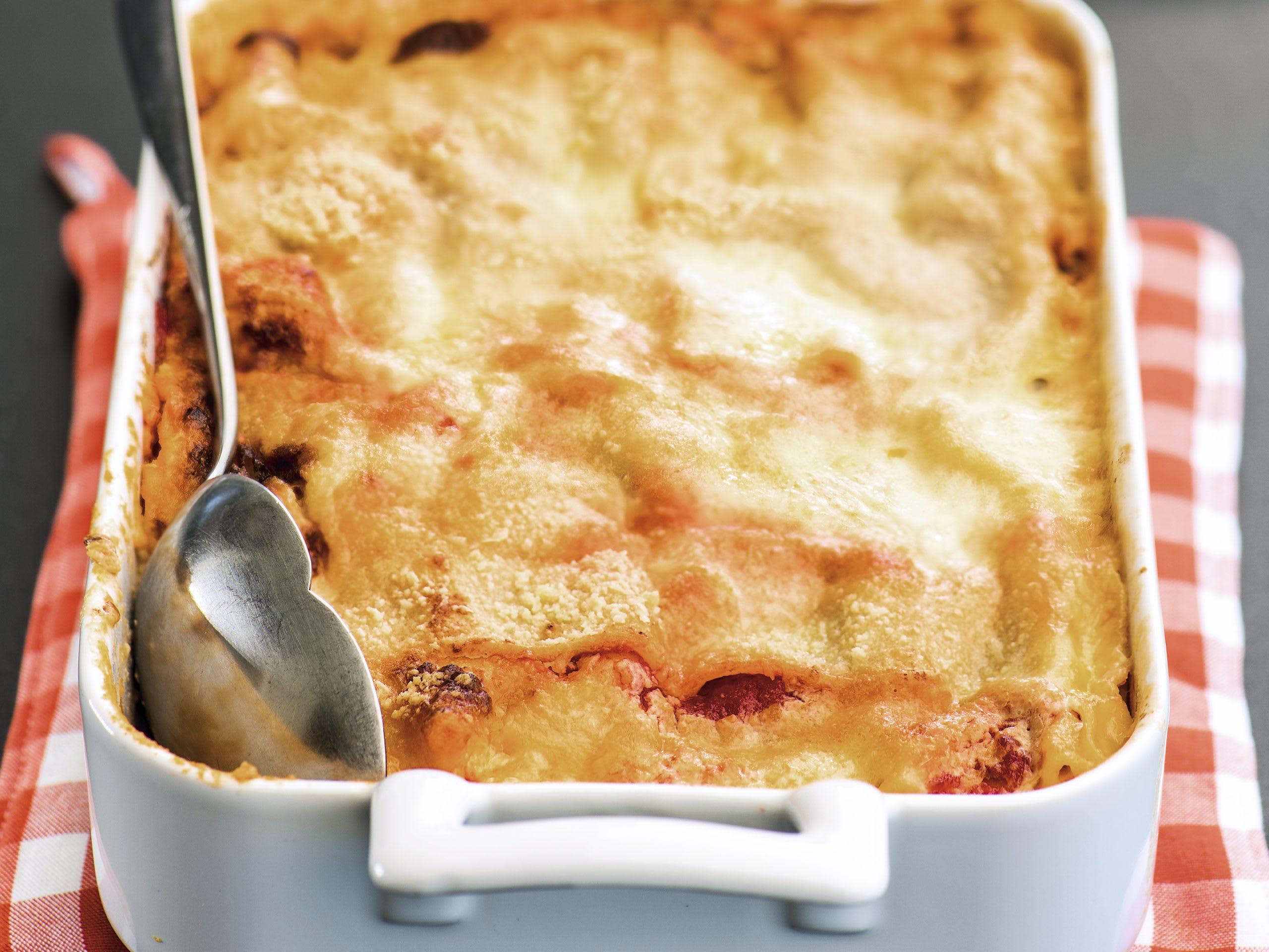 Lasagnes à la courge et au chou-fleur