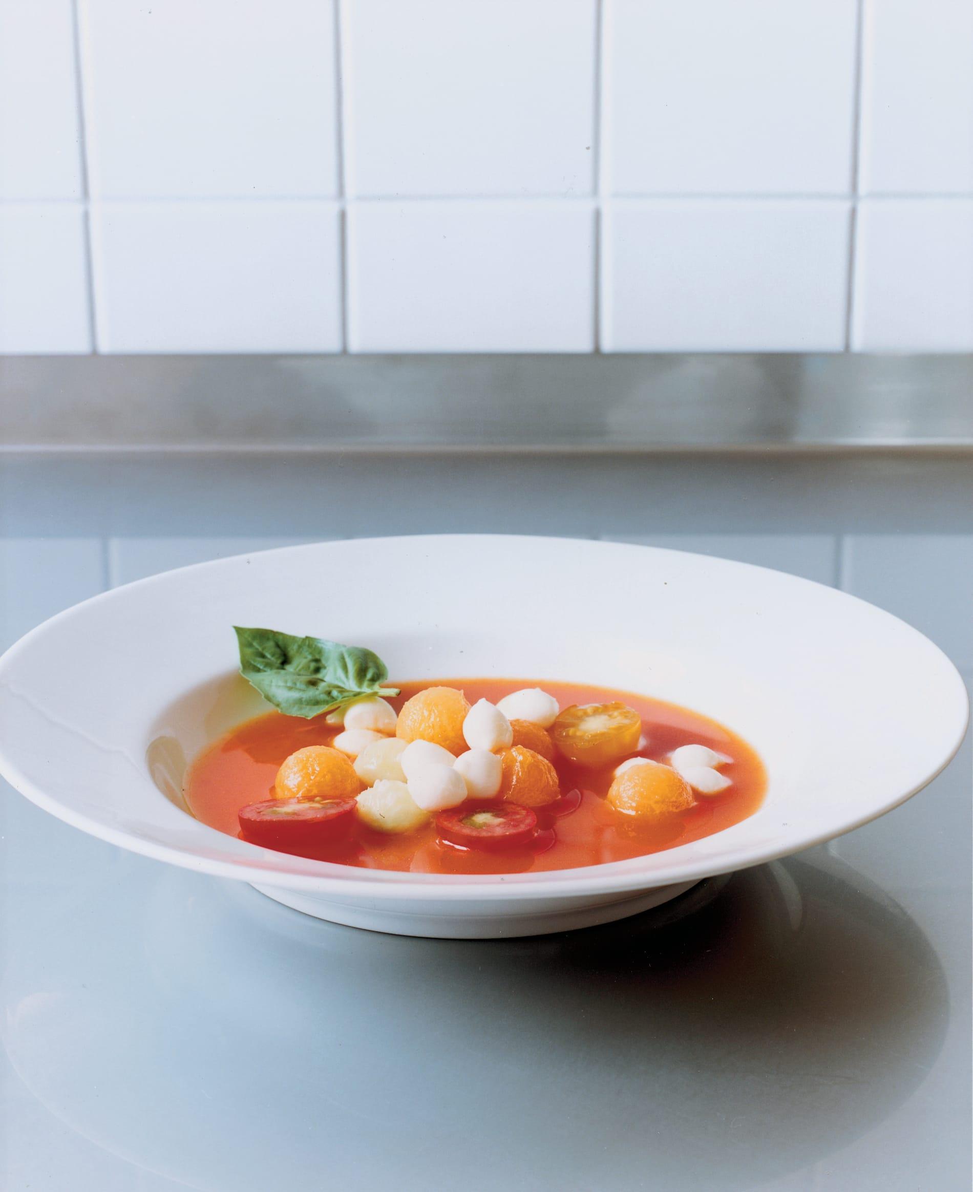 Soupe de perles de légumes