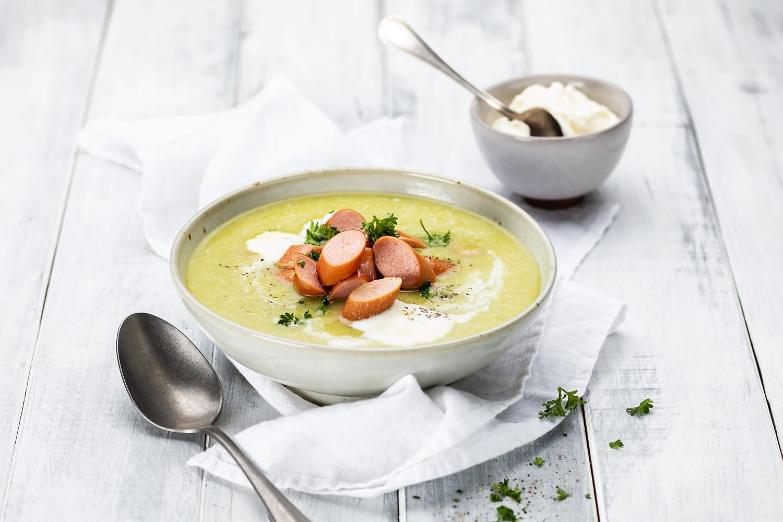 Lauchcrèmesuppe