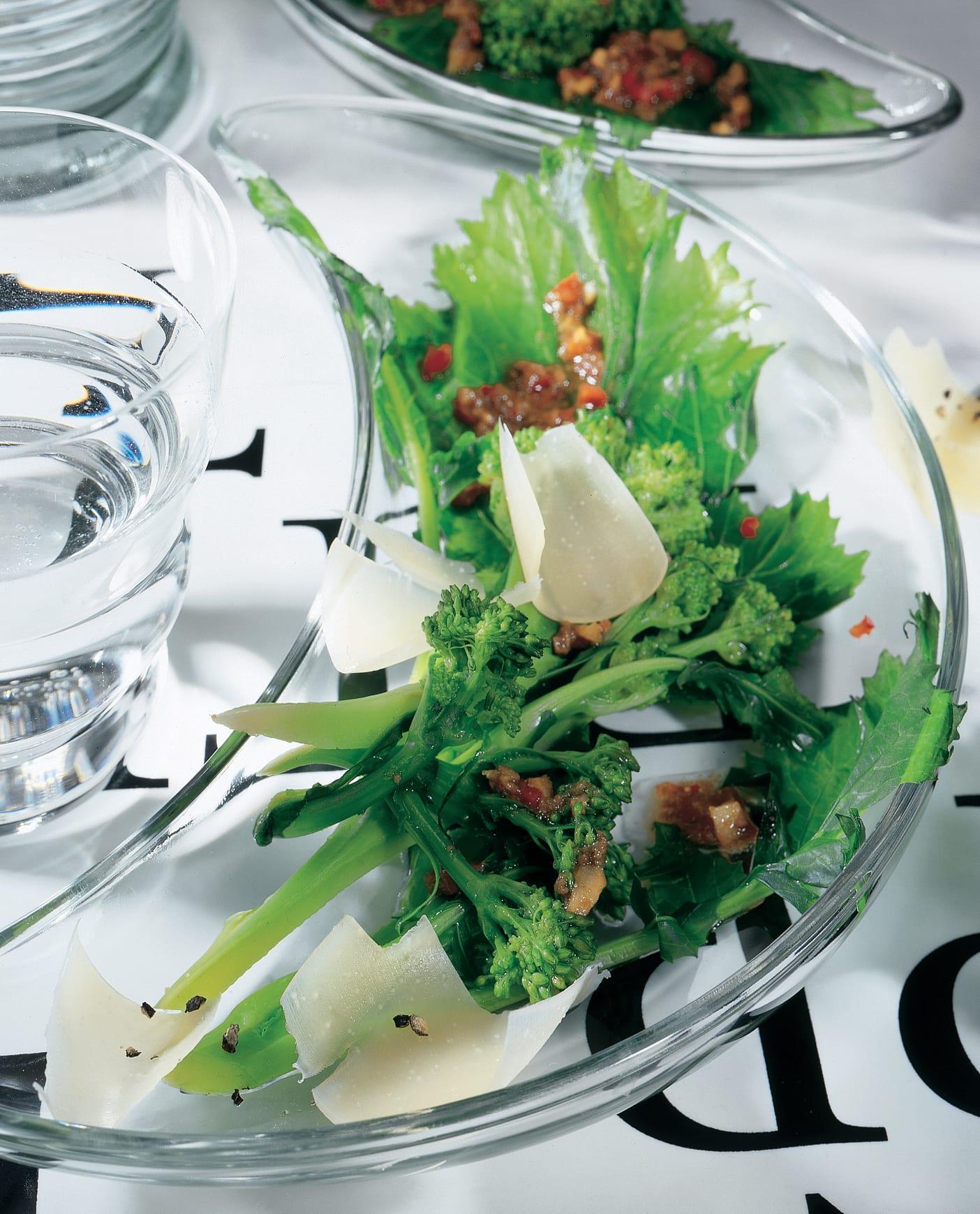 Lauwarmer Salat von Cima di rapa