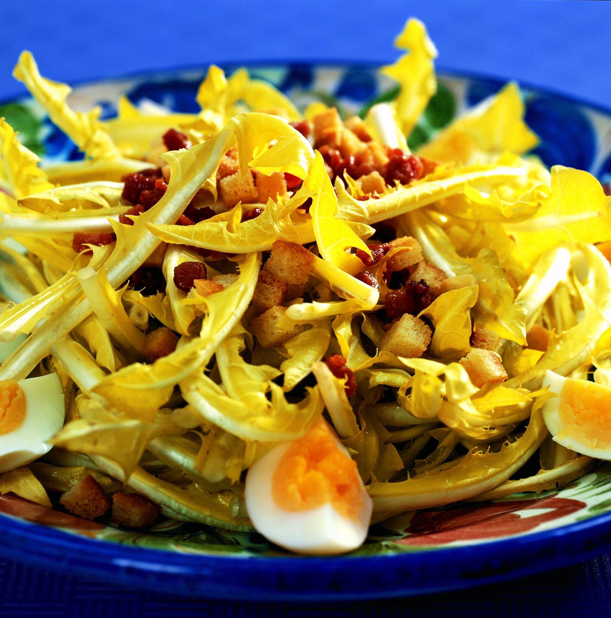 Salade de dent-de-lion