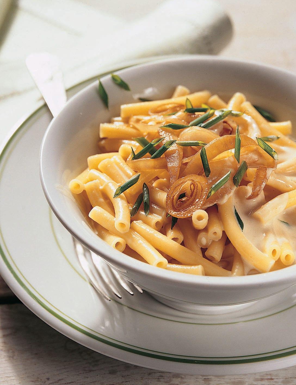Macaroni de chalet et sauce au fromage