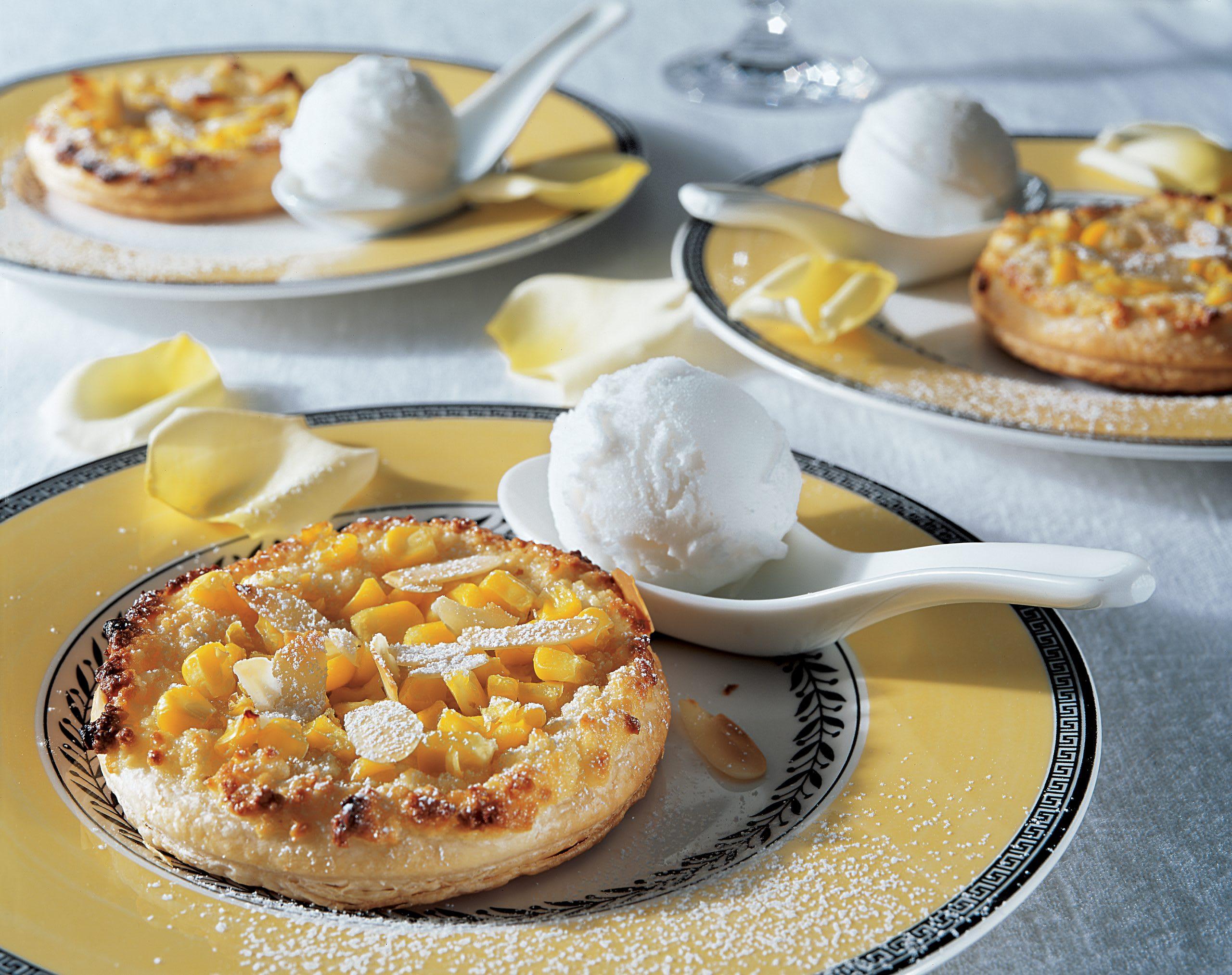 Tartelettes au maïs