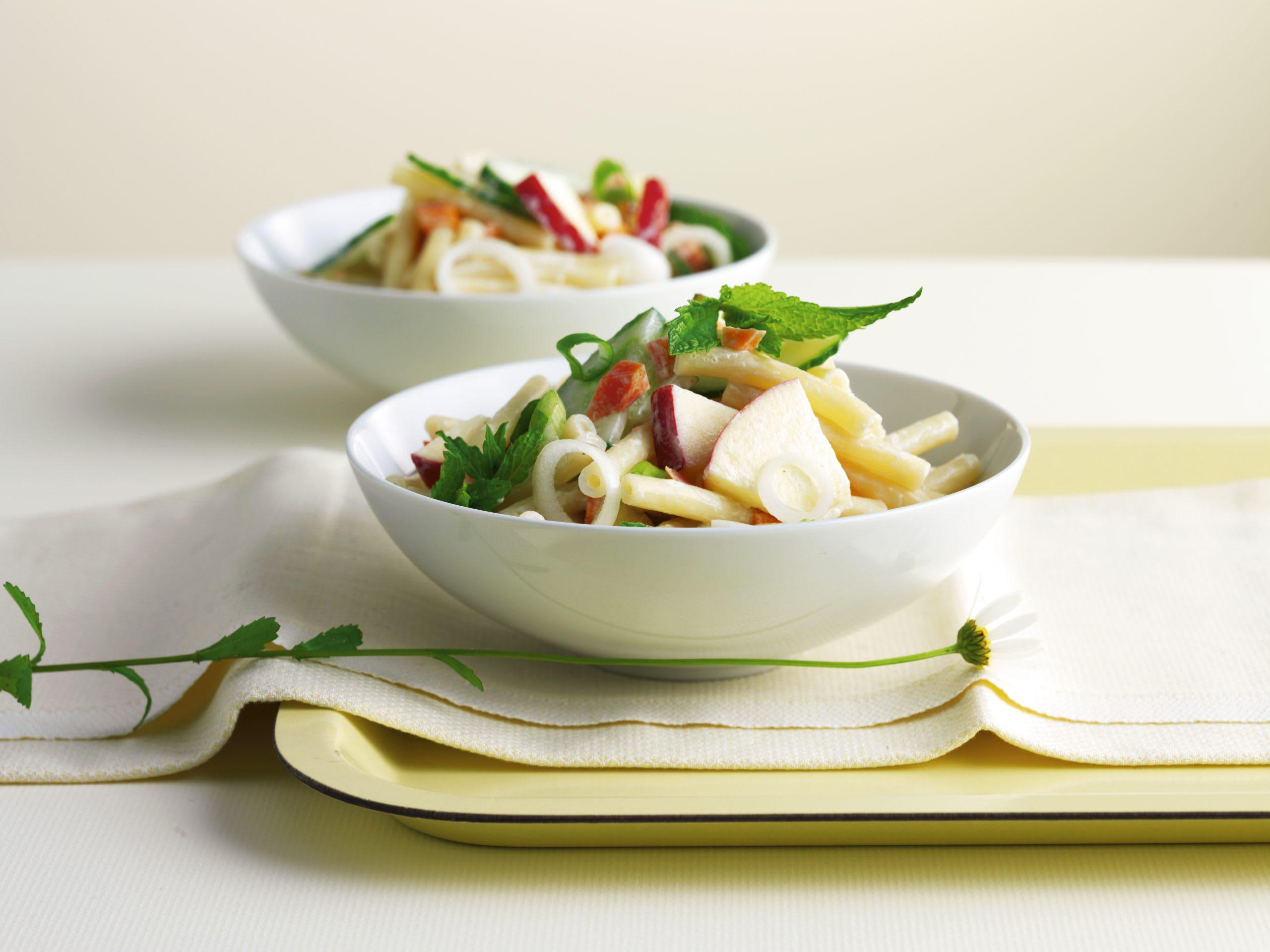 Makkaroni-Salat an Joghurtsauce