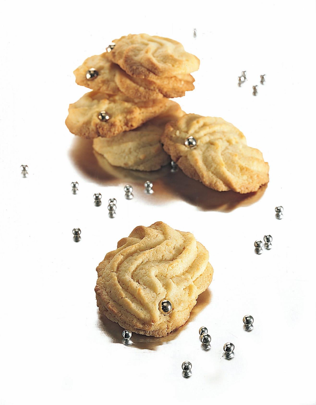Biscuits aux amandes et à l'eau de rose