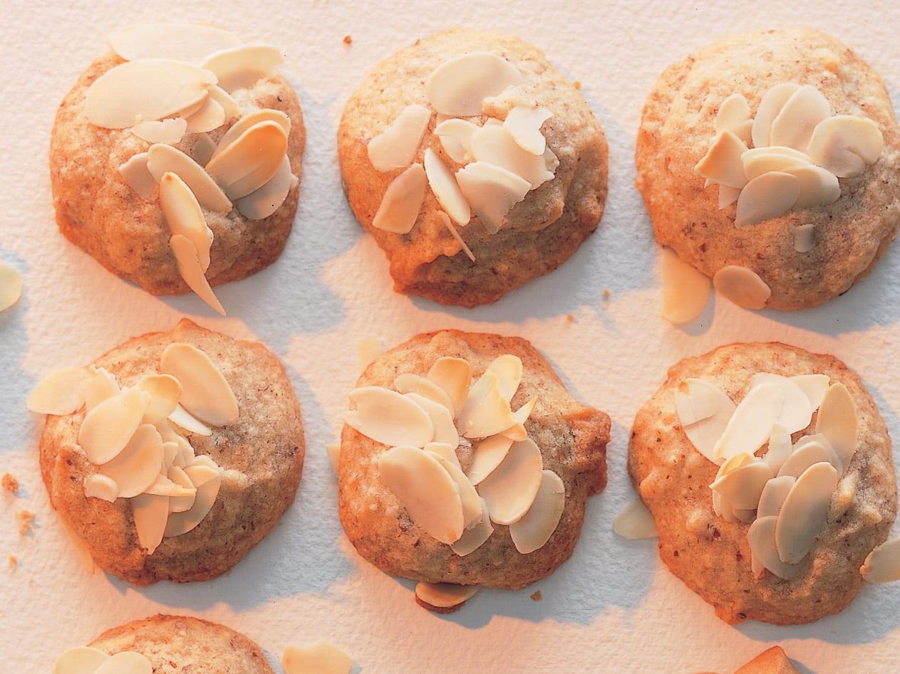Biscuits aux amandes et au miel