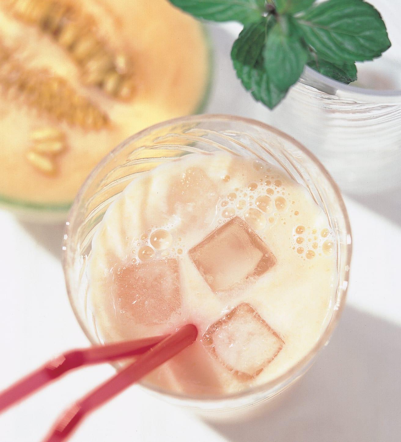 Milkshake menthe-melon