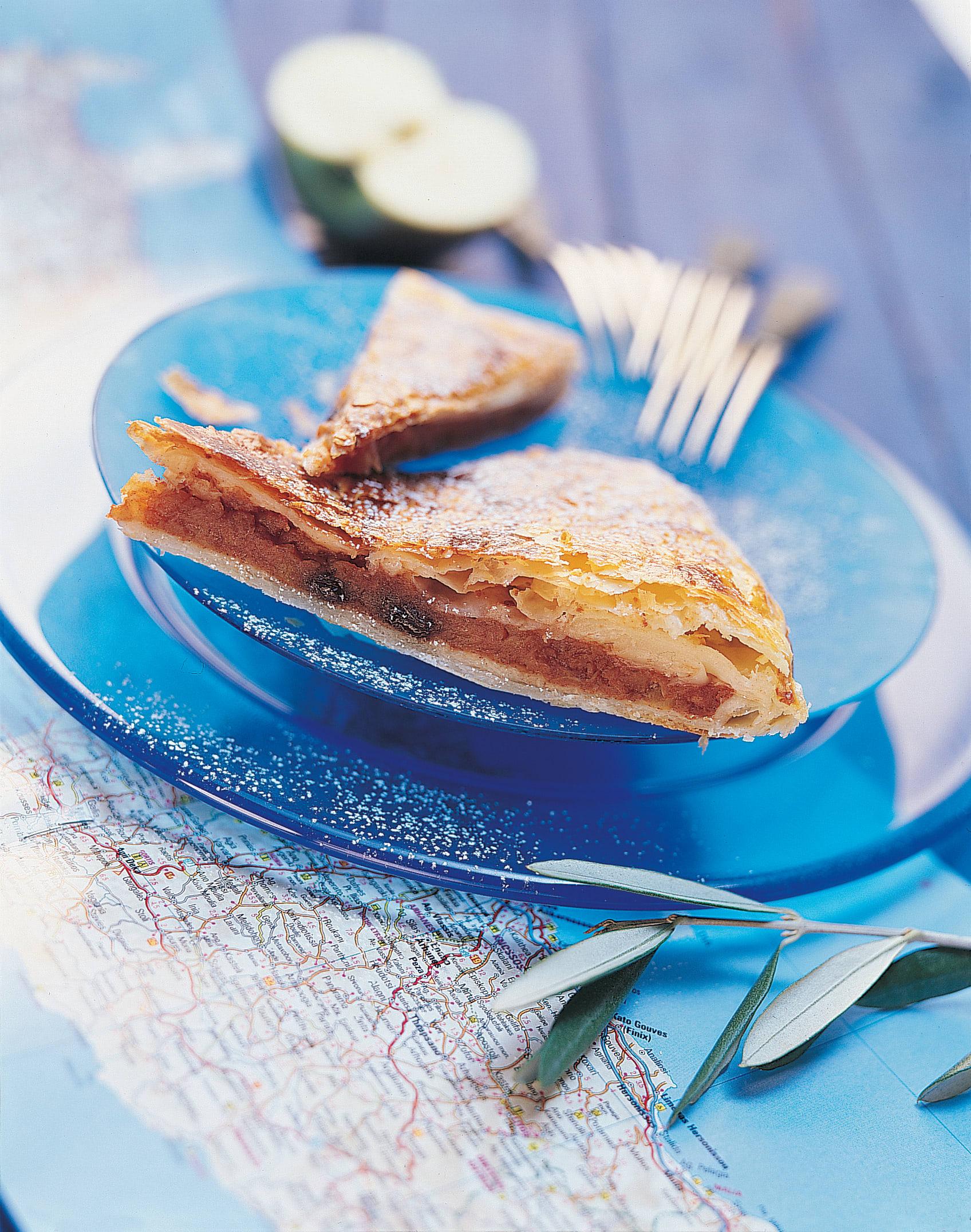 Milopita (Gedeckter Apfelkuchen)
