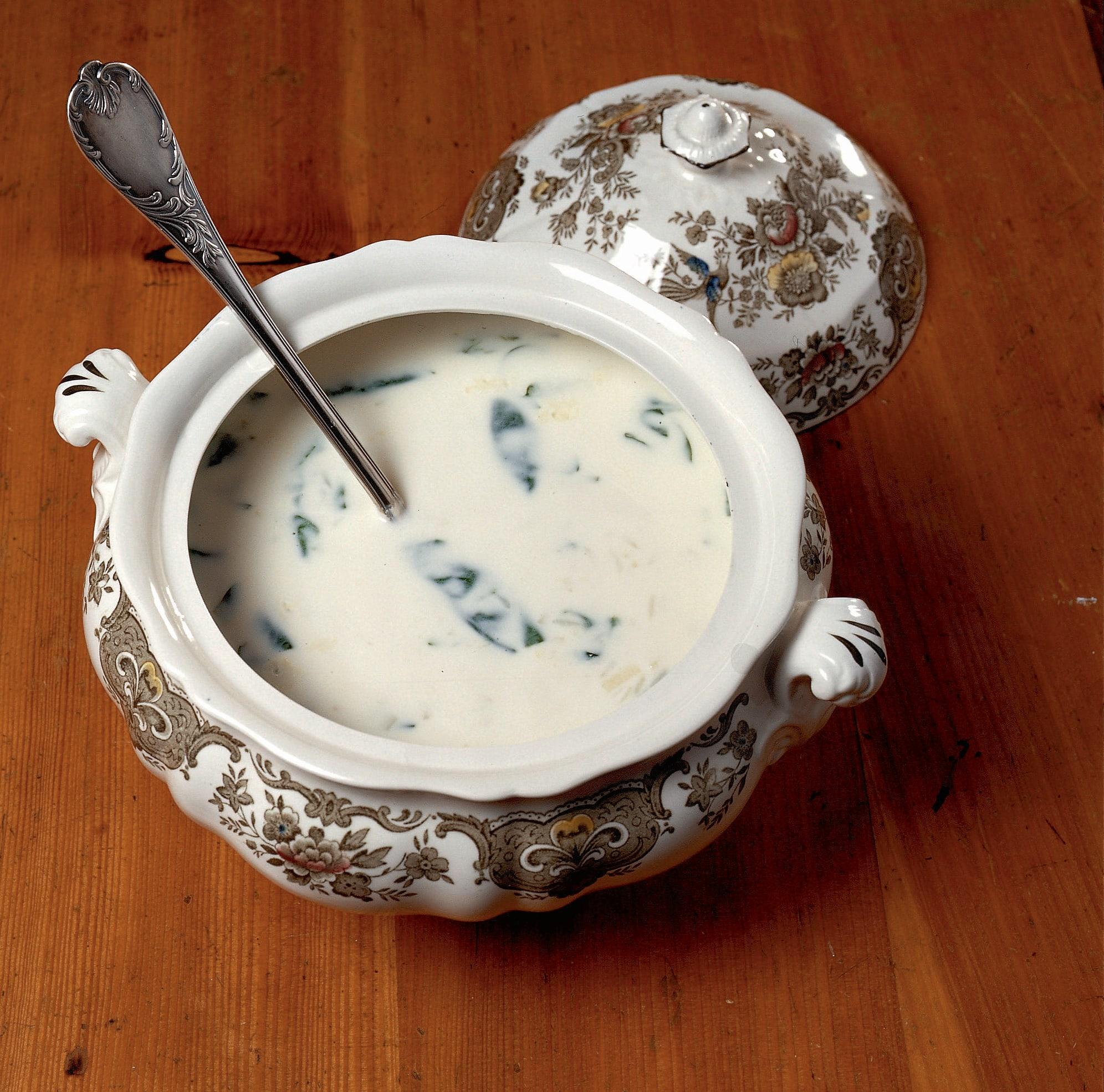 Minestra da lait (Milchsuppe)