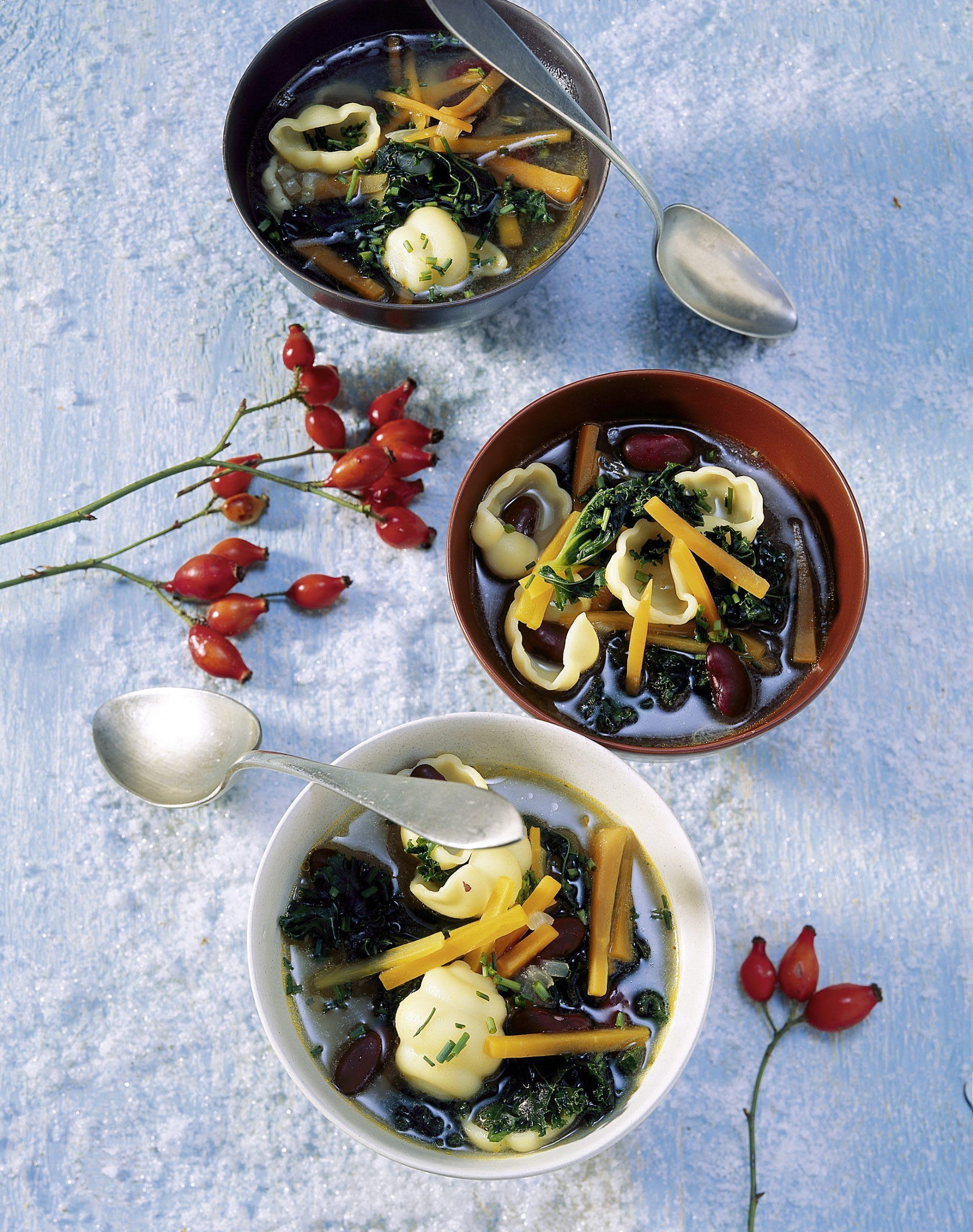 Minestrone au chou kale