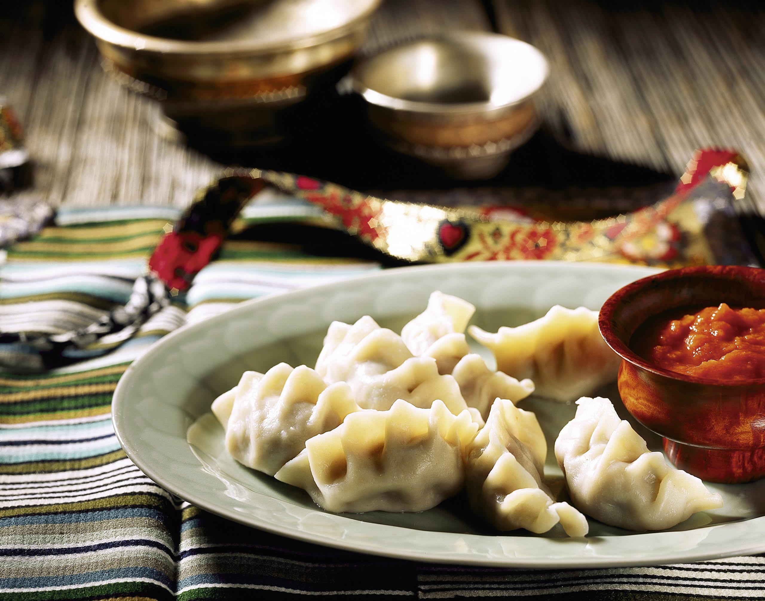 Momos (raviolis tibétains)