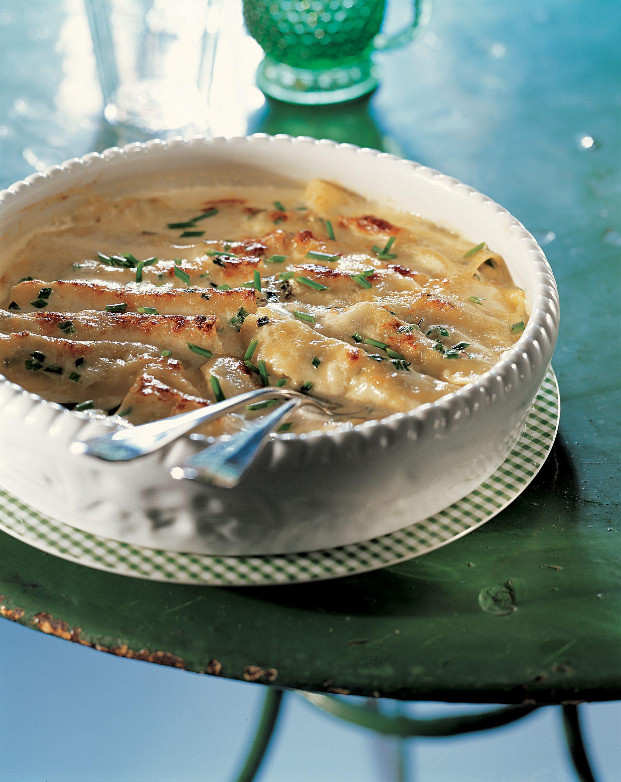 Cannelloni aux morilles