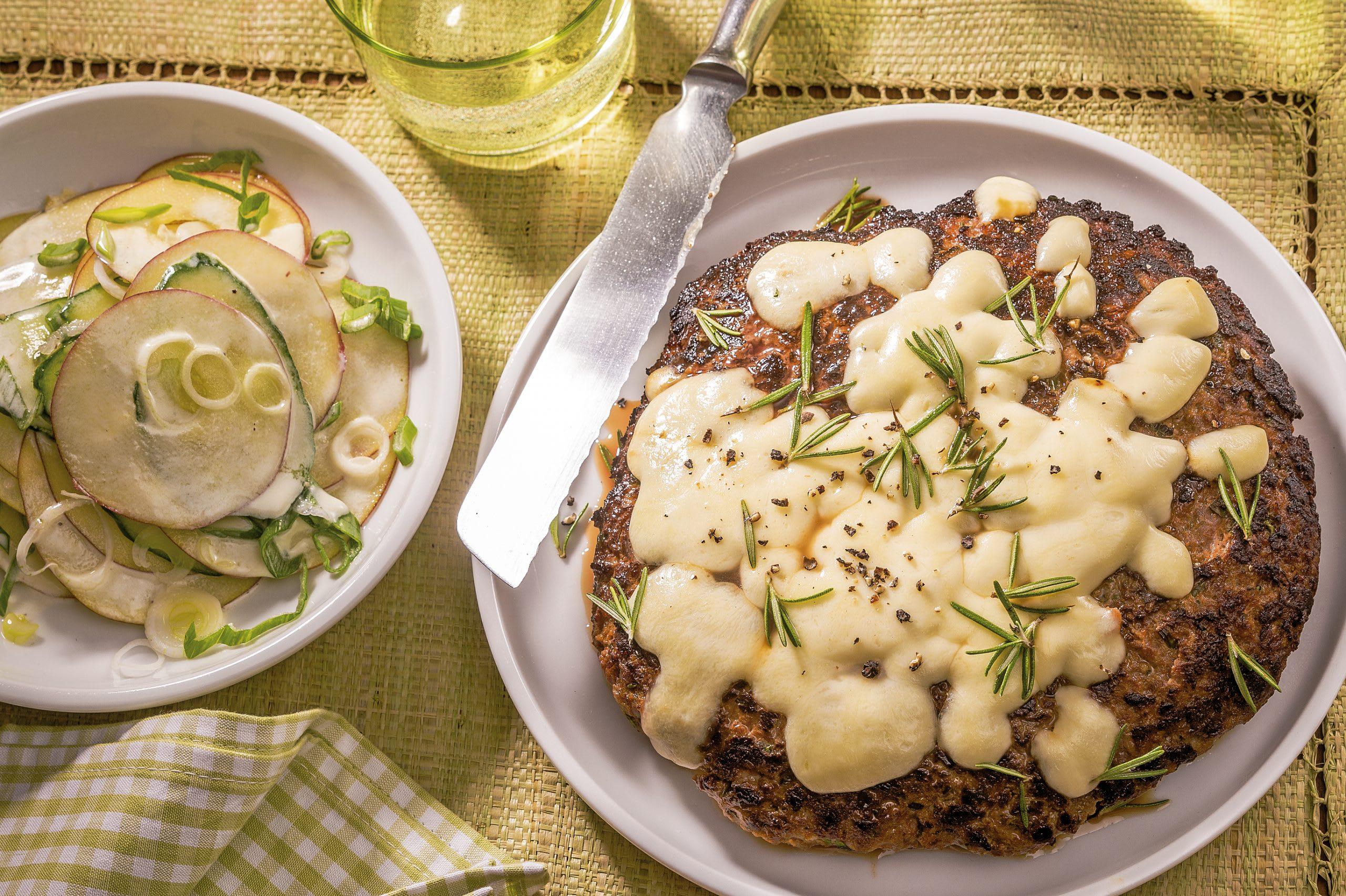 Mozzarella-Burger