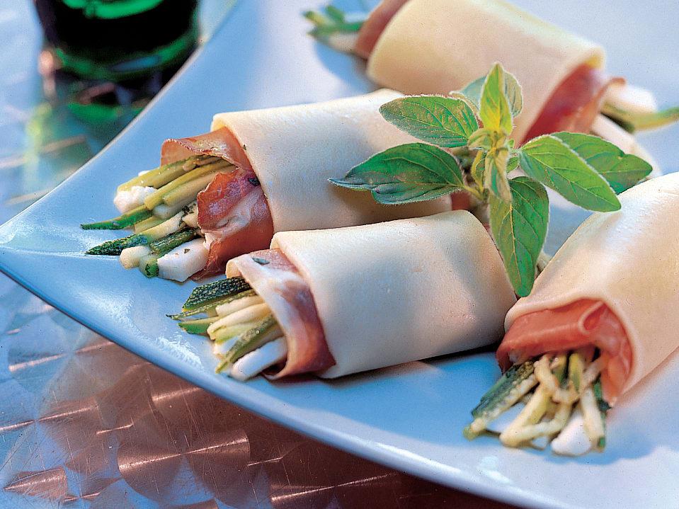 Mozzarella-Röllchen