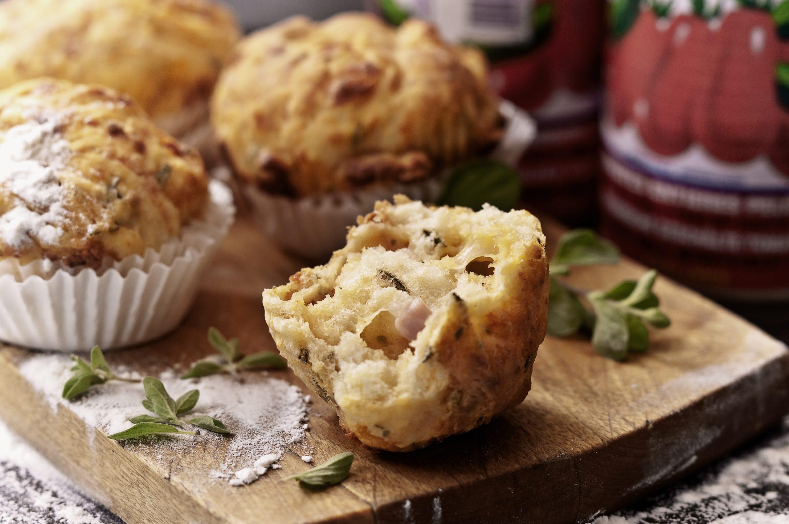 Muffins tomate-mozzarella